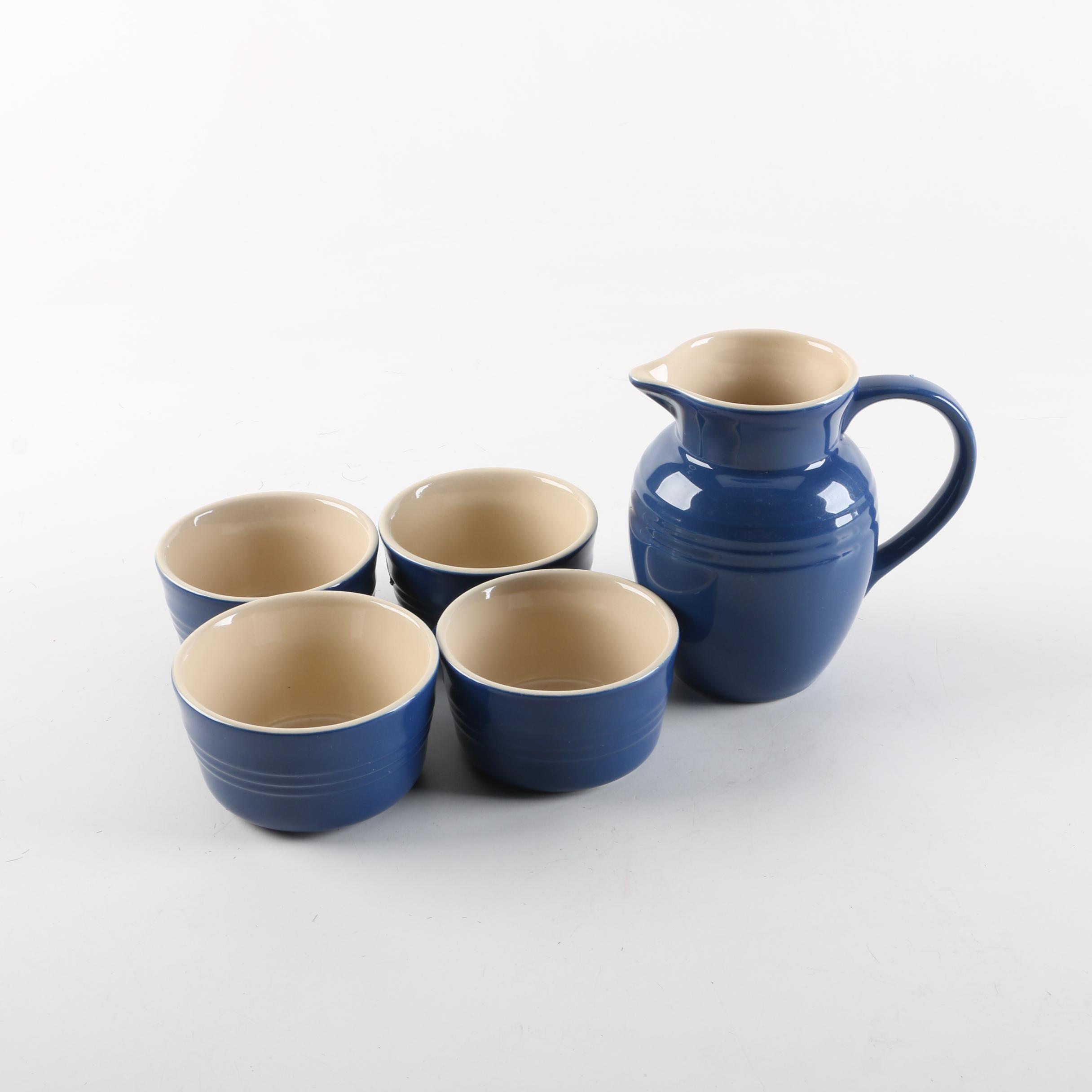"Le Creuset ""Indigo"" Stoneware Tableware"