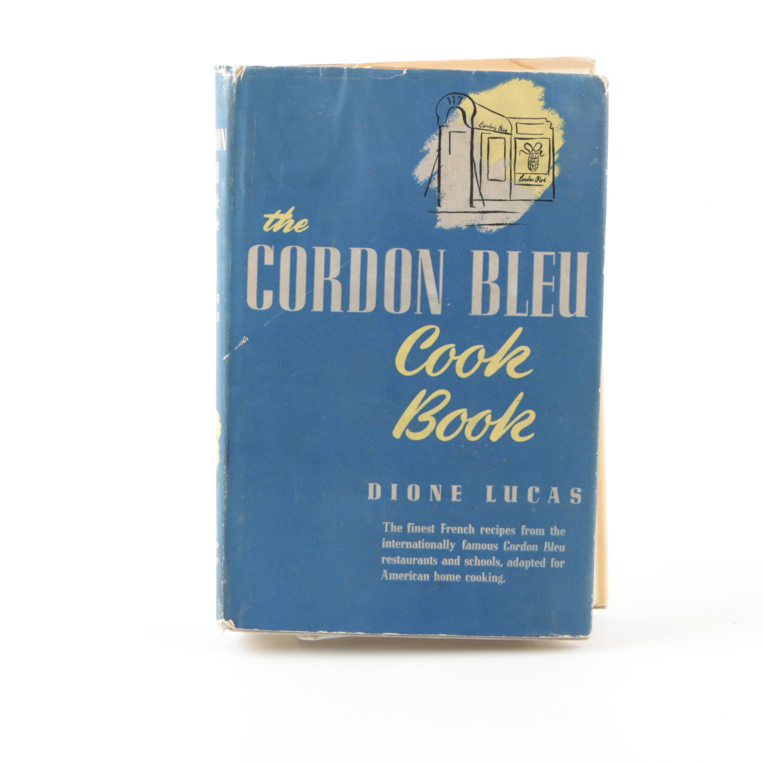 "1947 ""The Cordon Bleu Cookbook"" by Dione Lucas"