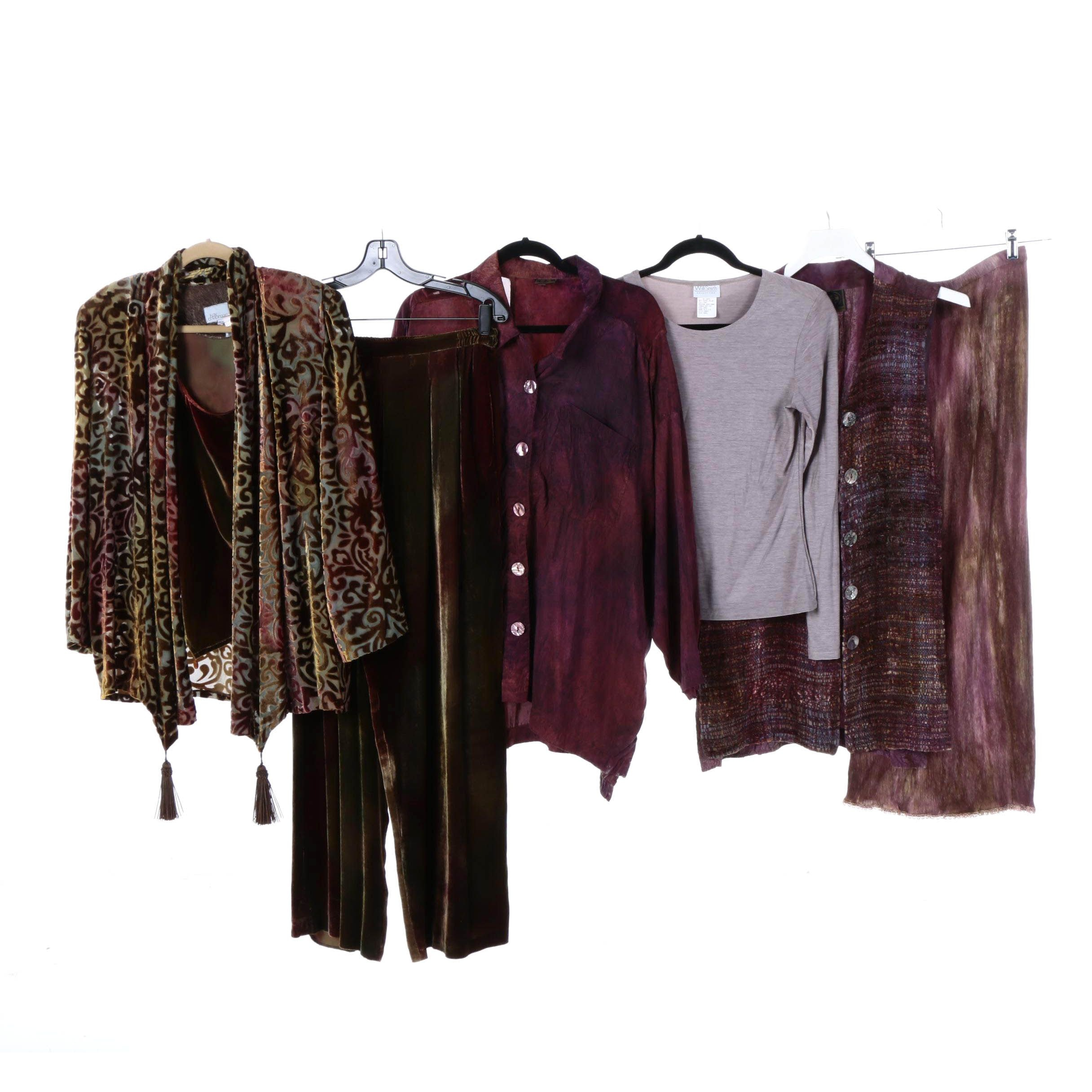 Women's Clothing Including Kay Chapman and Willi Smith