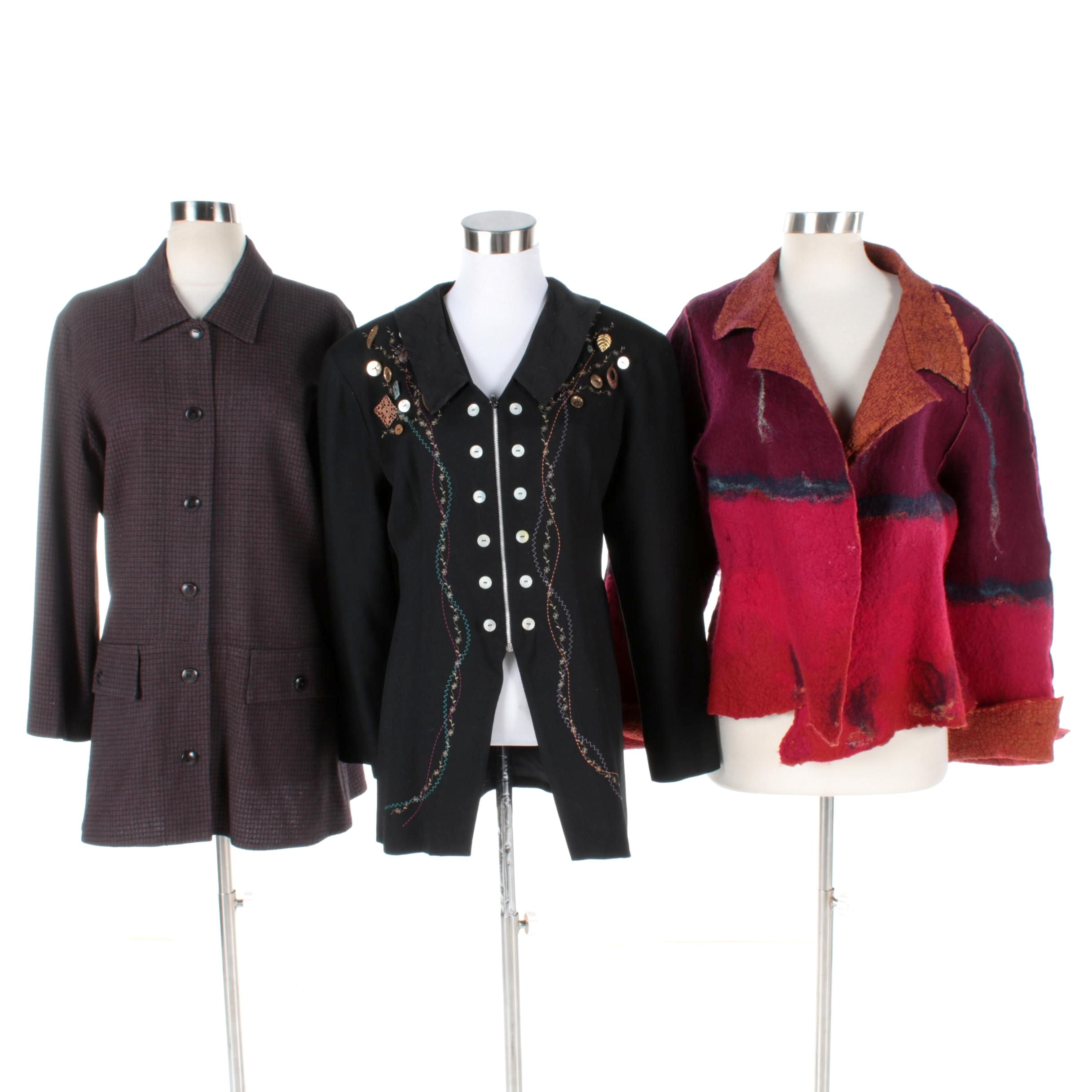 Women's Jackets Including Amy Rigg and Michael Radyk