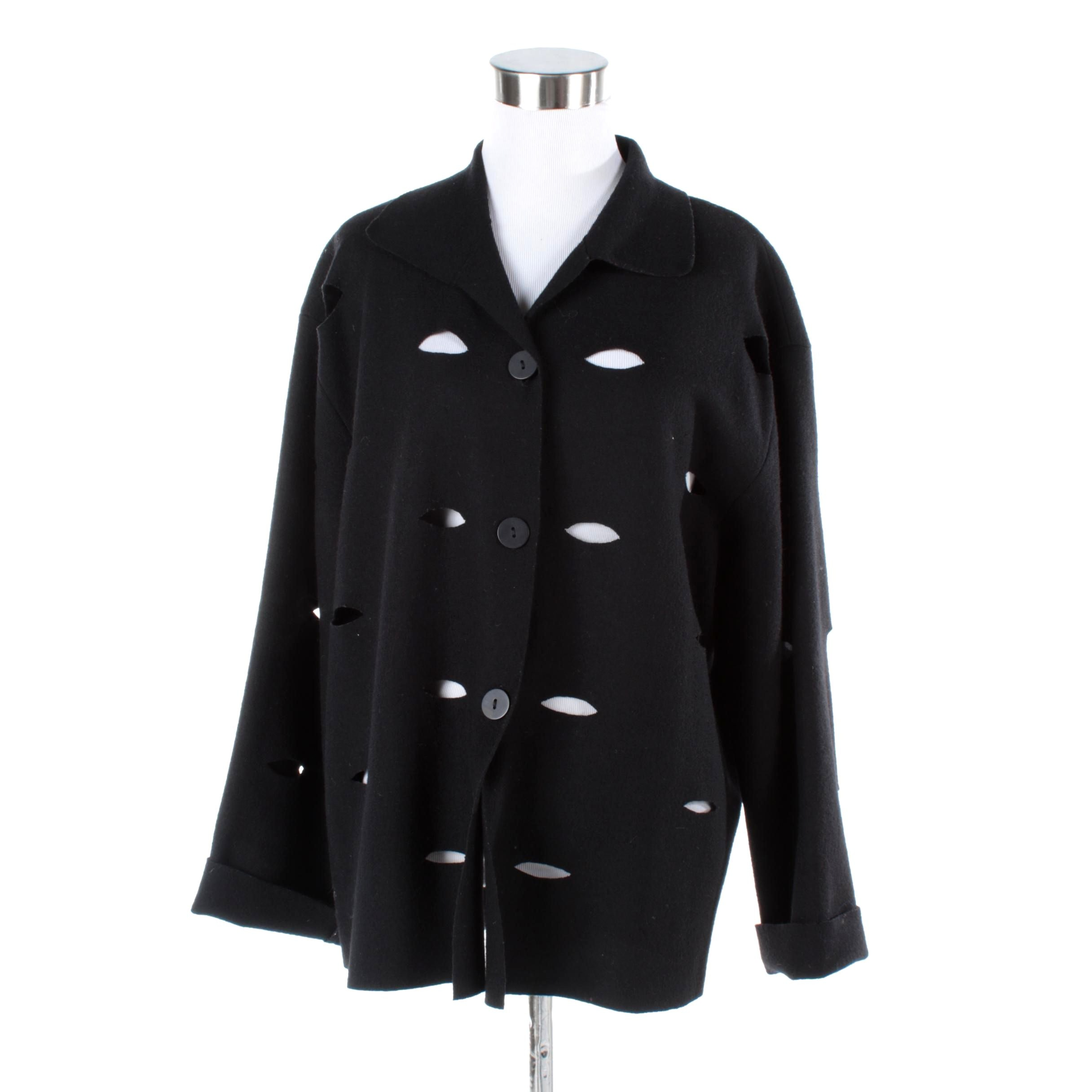 Women's Kiaoyan Lin Jacket with Hole Accents