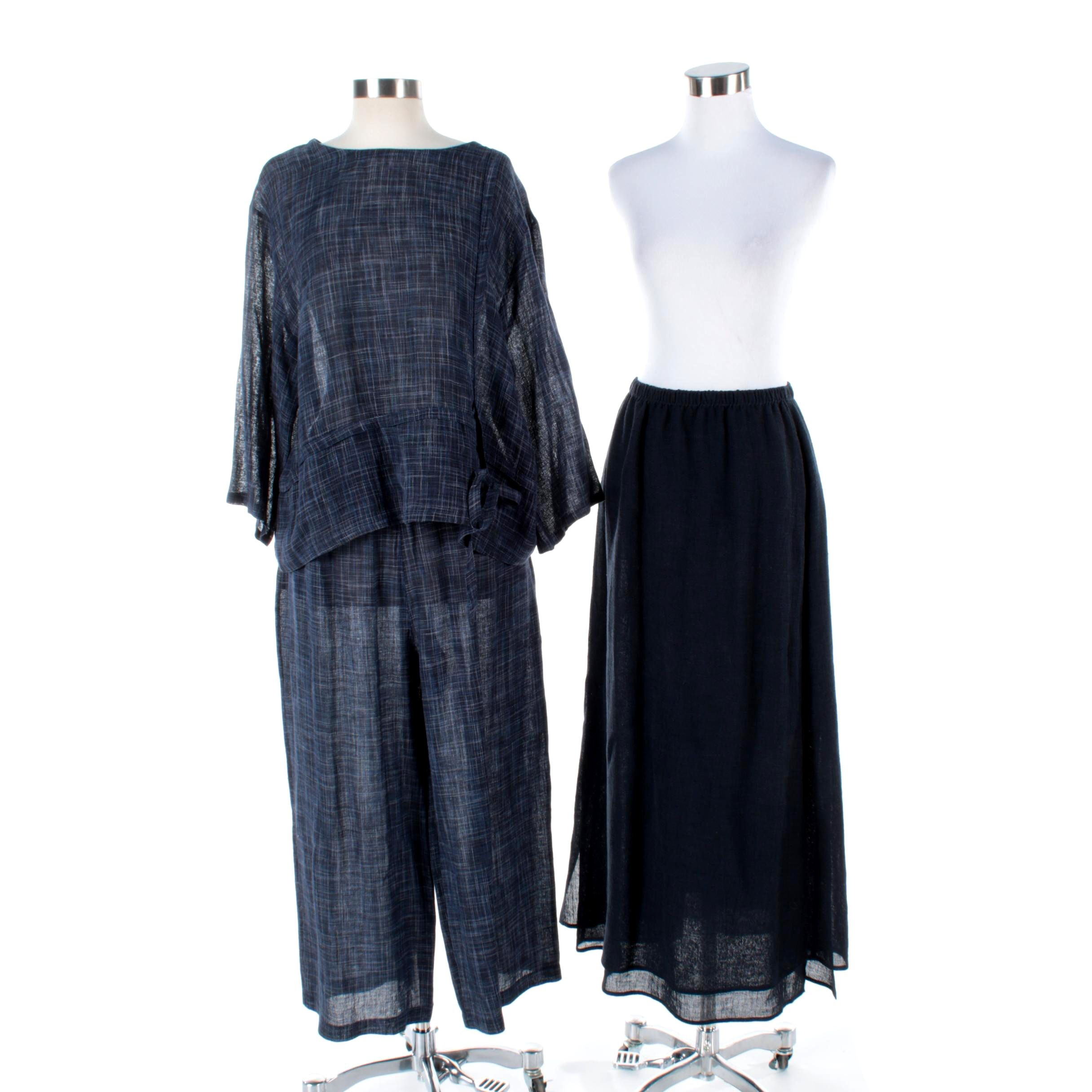 Women's Hino & Malee Linen Blend Clothing Separates