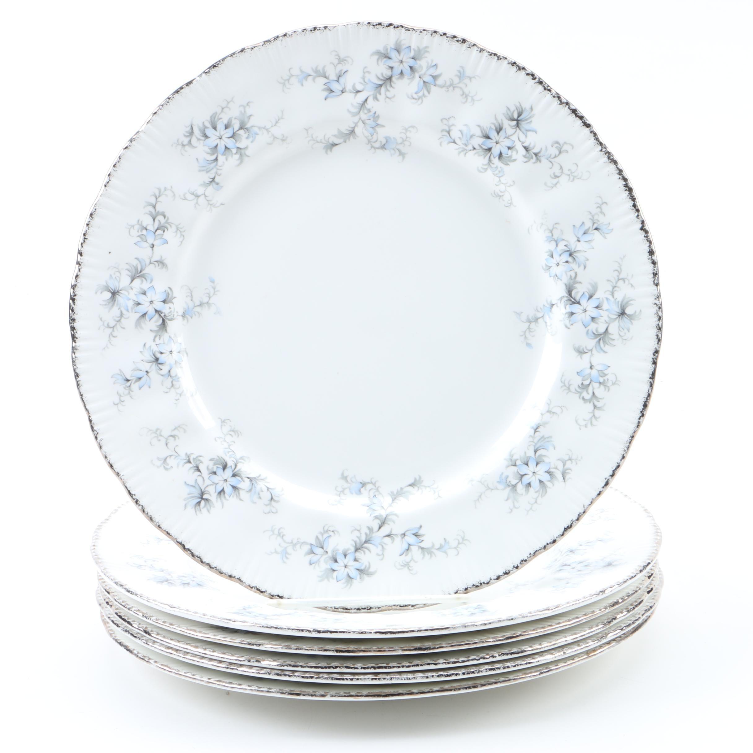 """Paragon """"Bride's Choice"""" Porcelain Plates"""