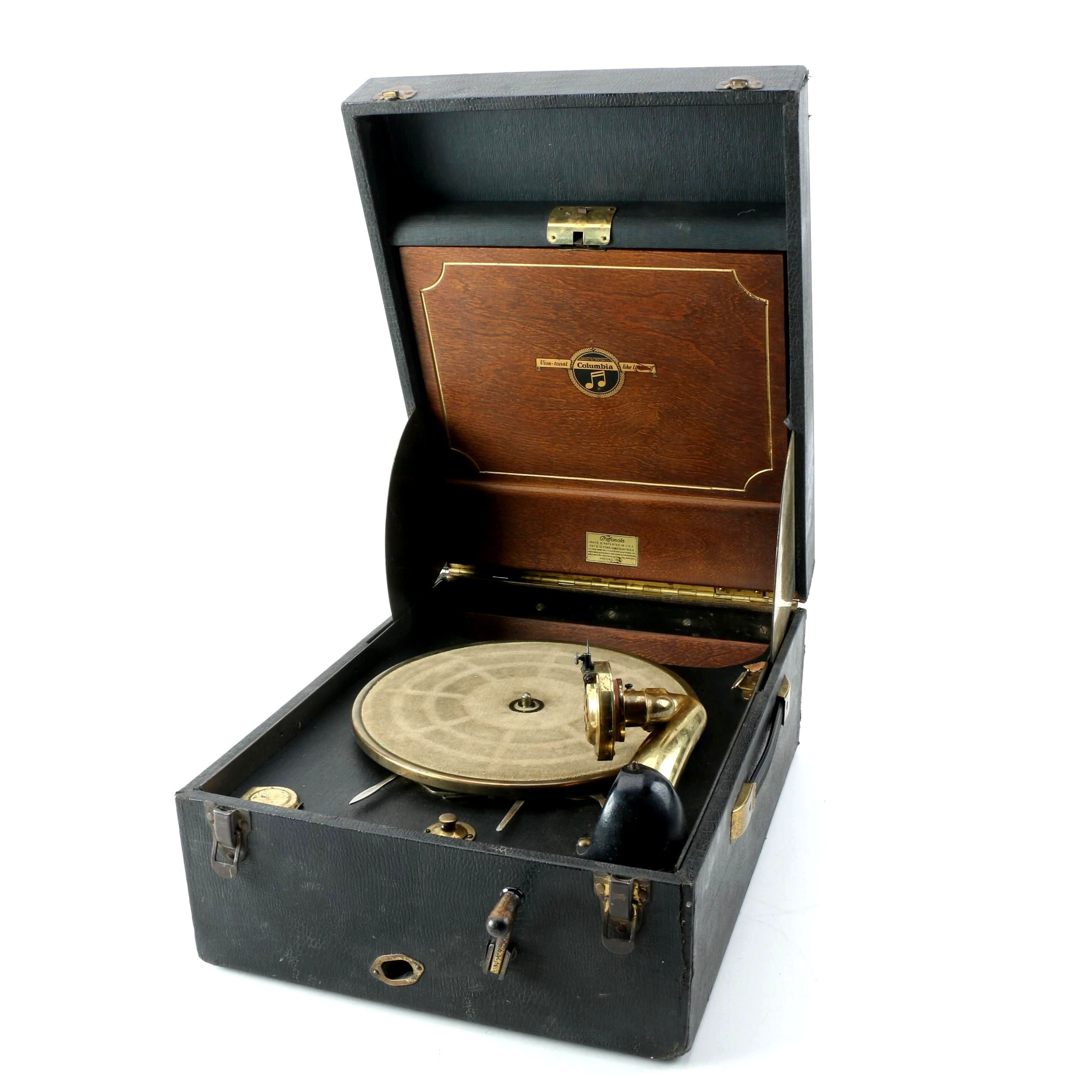 Antique Columbia Grafonola Model 162 Phonograph