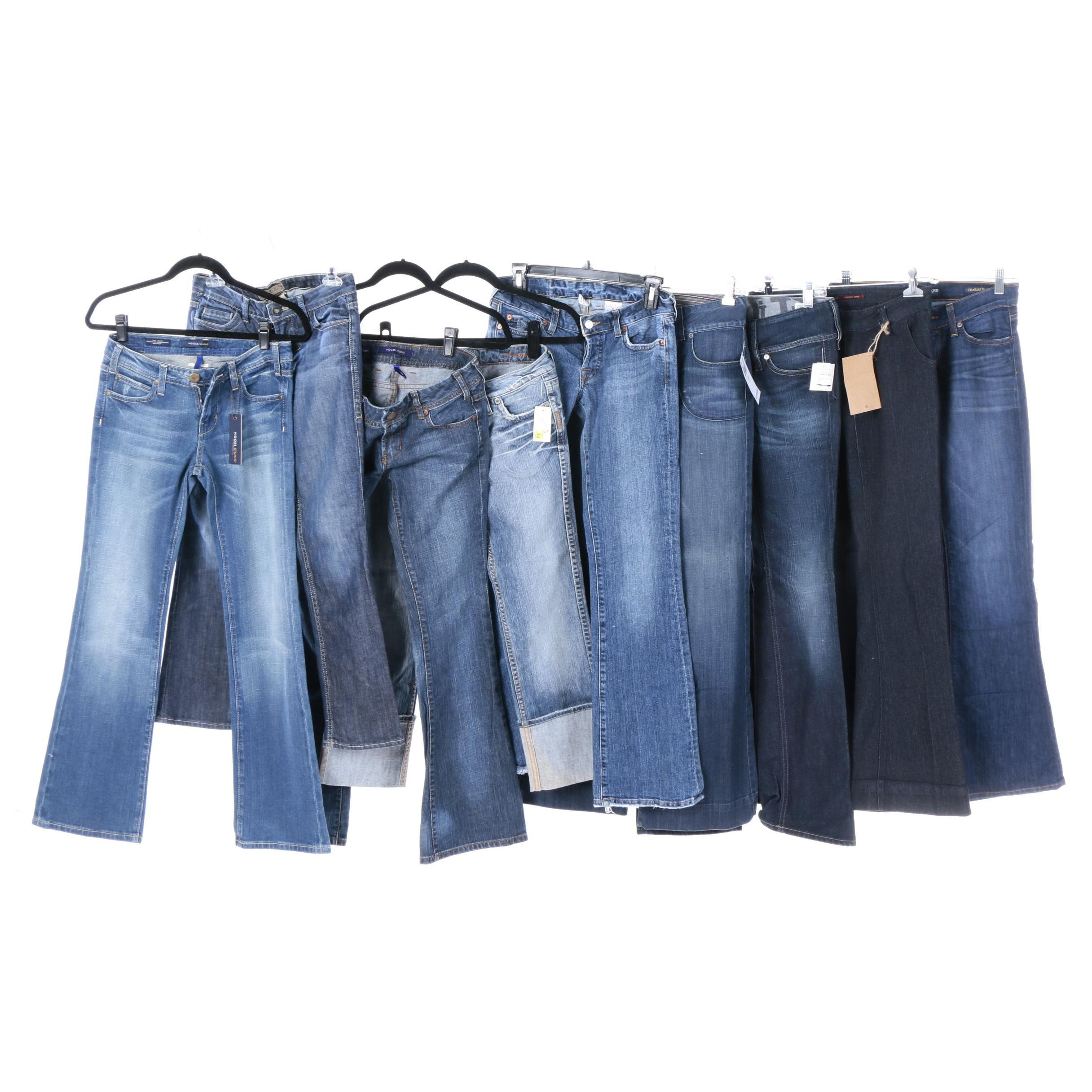 Women's Jeans Including Lucky Brand and Vigoss Studio