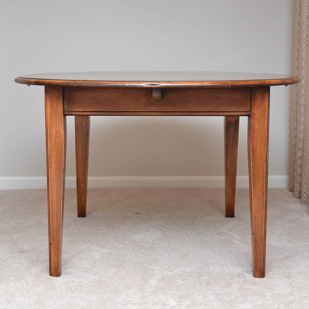 Vintage Distressed Extension Dining Table