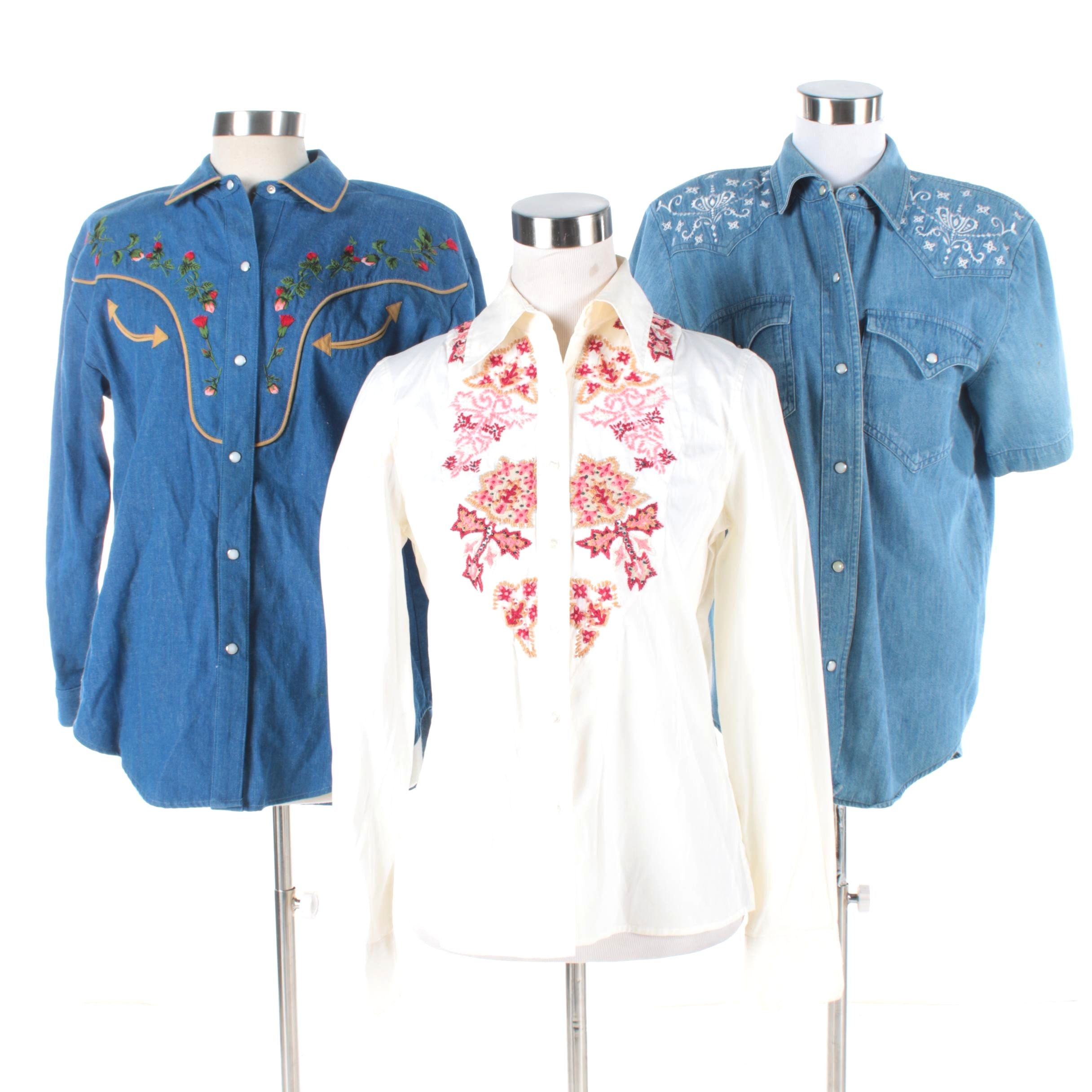 Women's Western Shirts Including Hairston Roberson Ropa