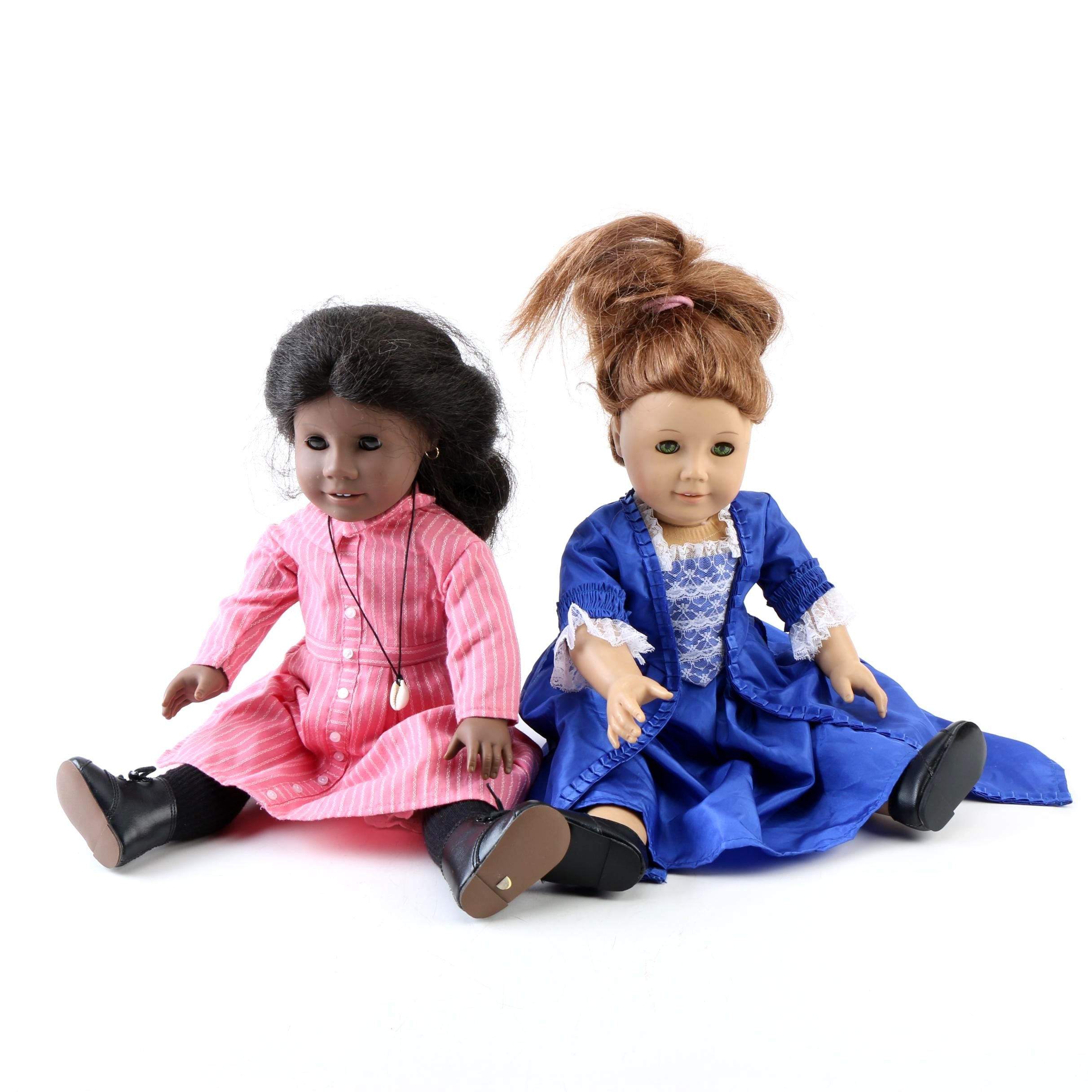 """American Girl """"Addy"""" and """"Felicity"""" Dolls"""
