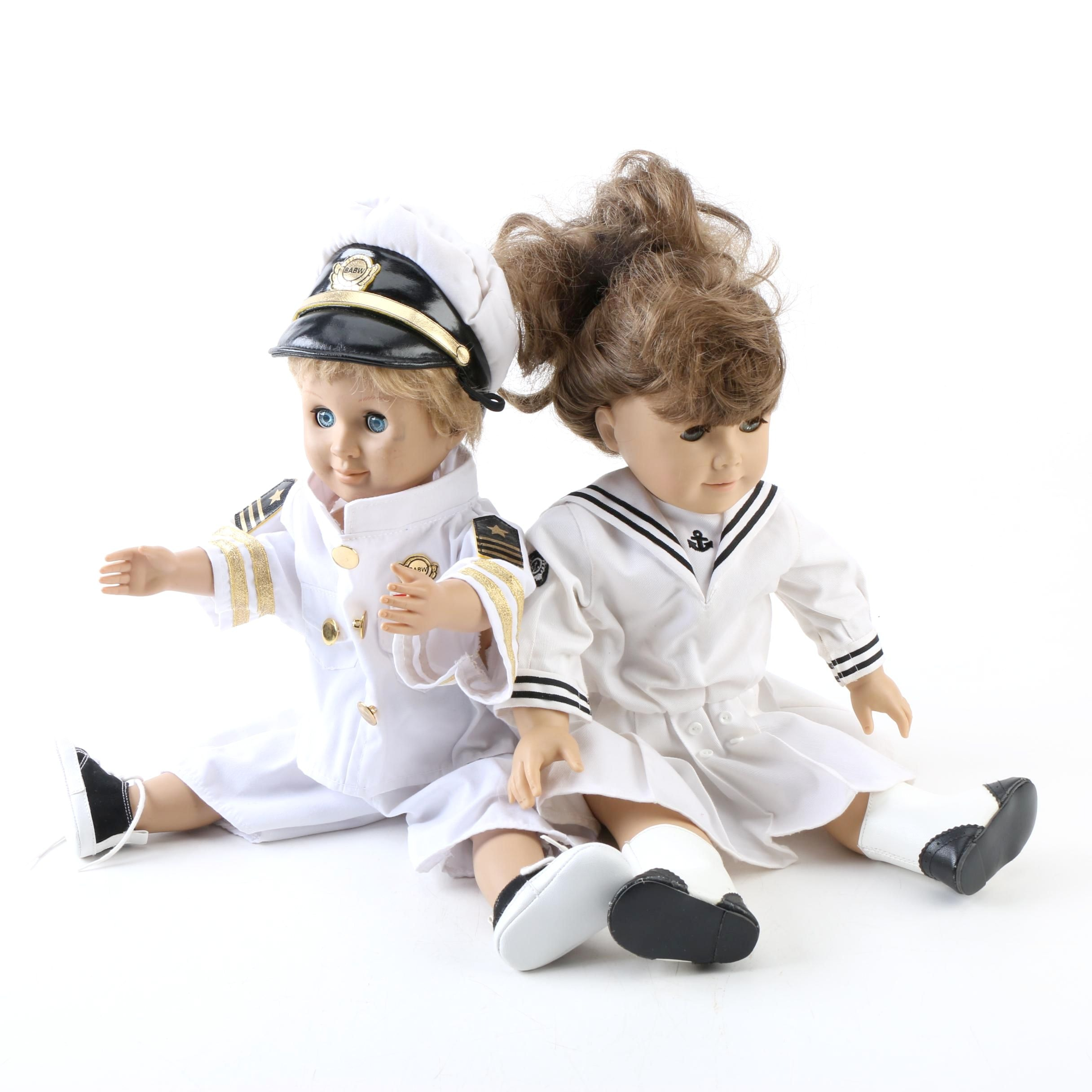 "Vintage American Girl ""Samantha"" and Battat ""Jack"" Dolls"