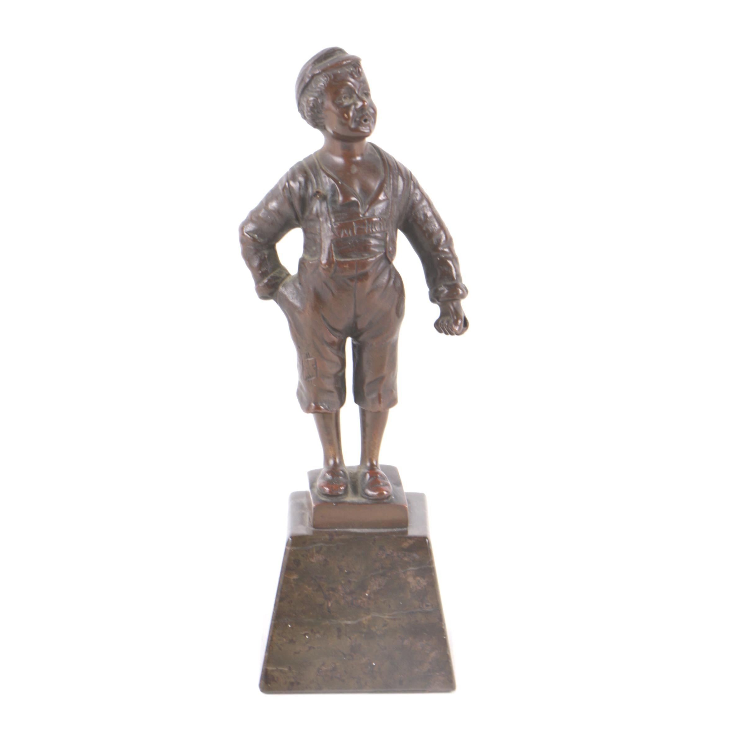 Bronze Sculpture After Ludwig Graefner