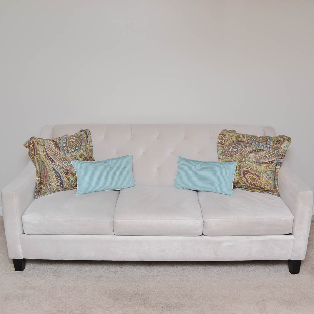 Contemporary Tufted Sofa by Max Home