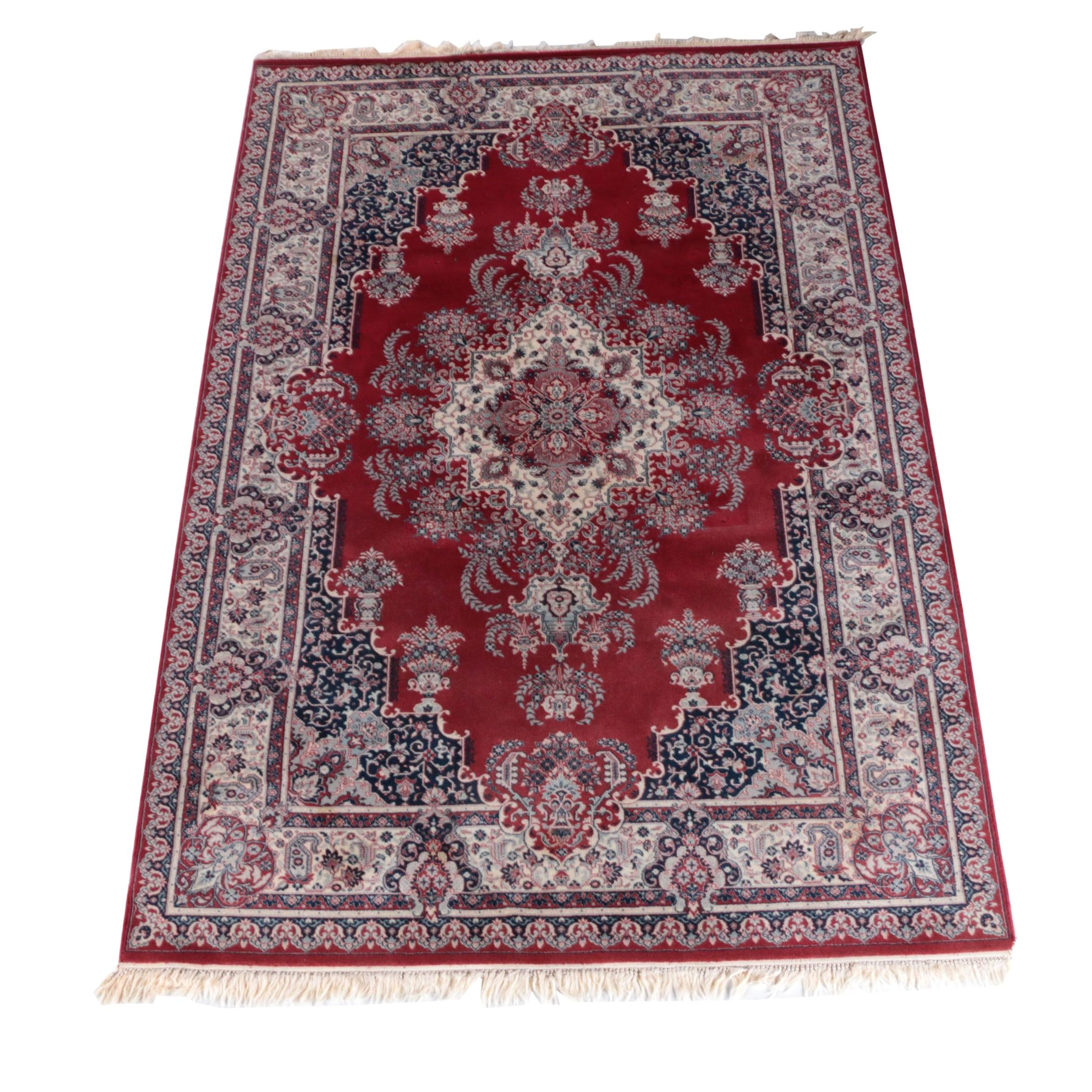 Machine Made Persian Style Area Rug by Galaxie