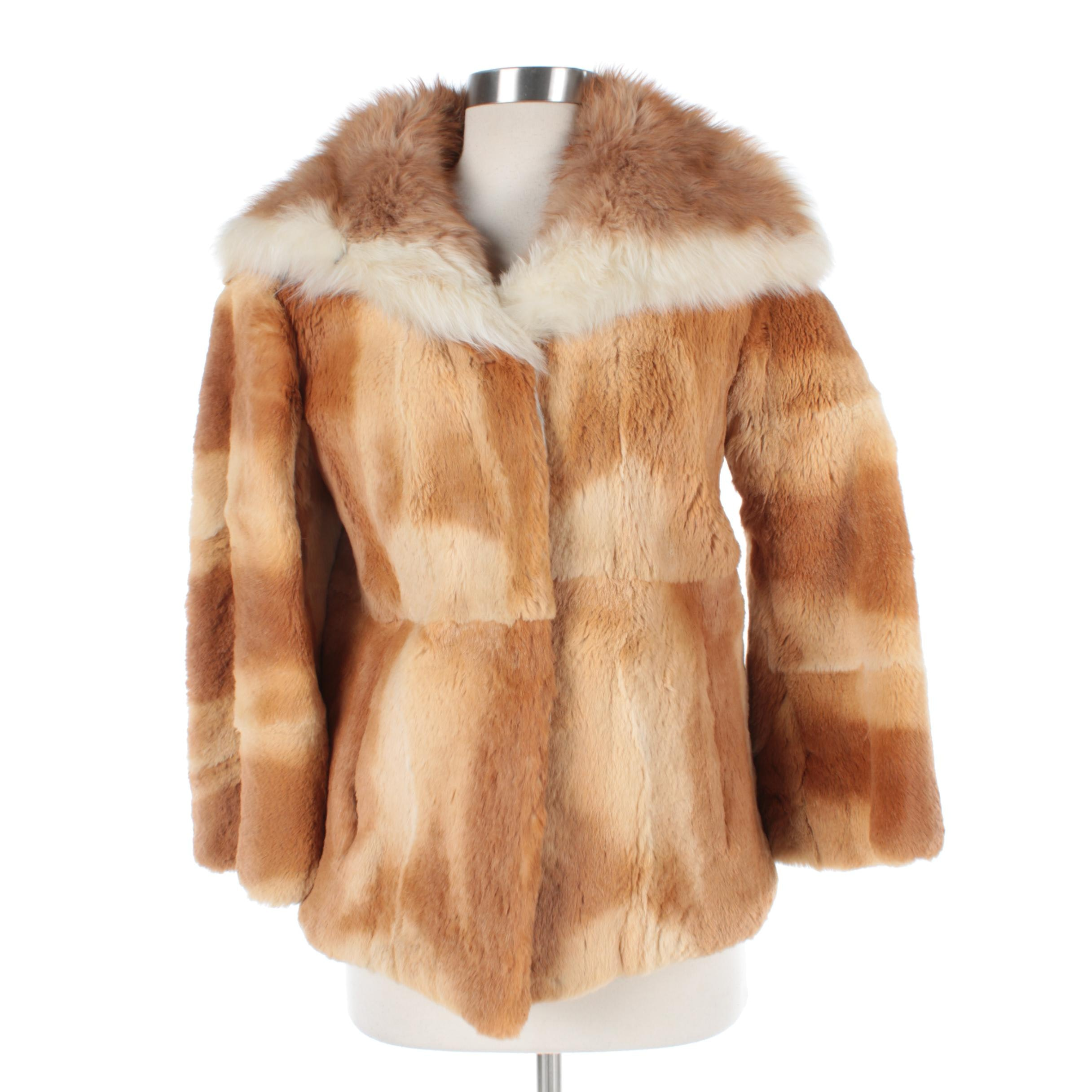 Guanaco Fur Coat