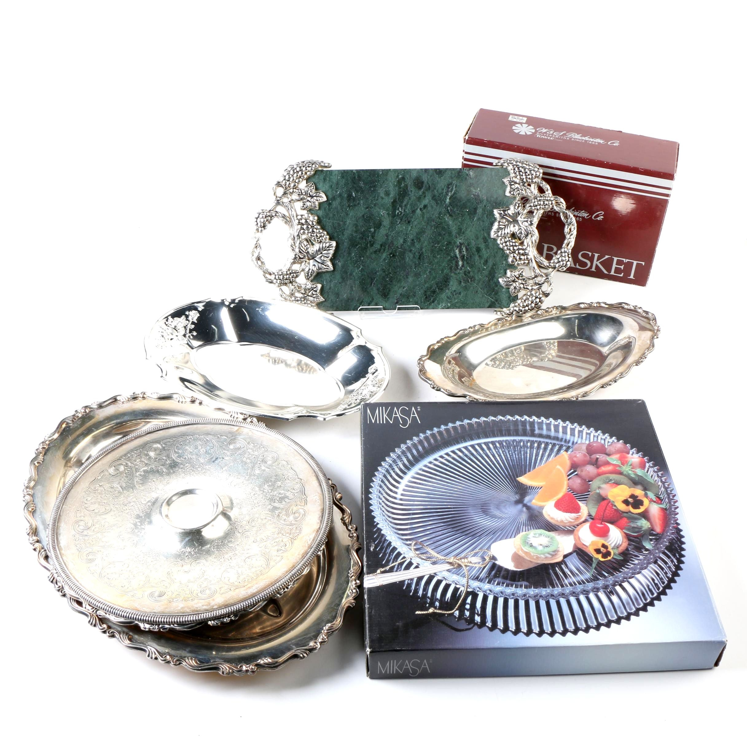 Serving Trays Including Mikasa