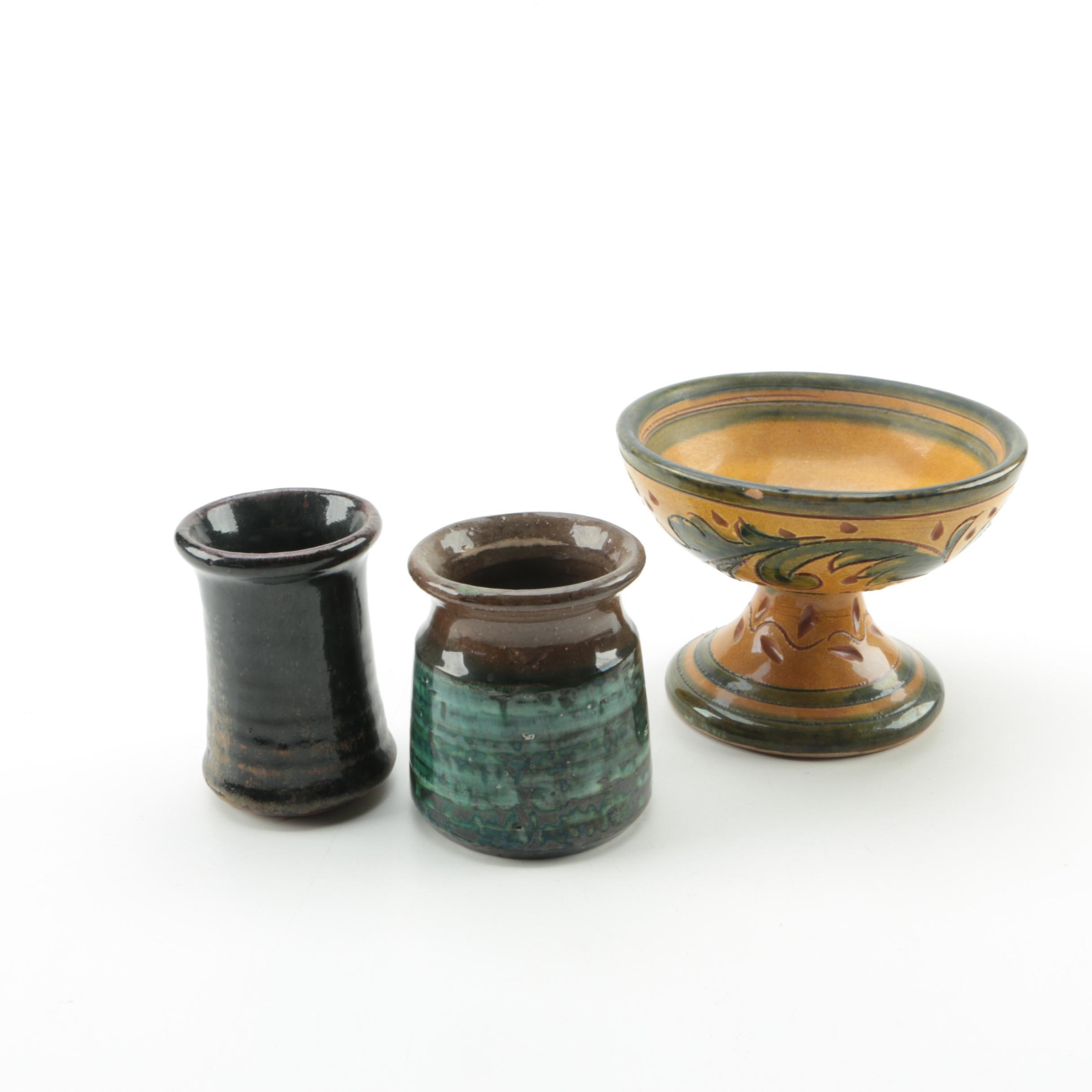 Art Pottery Vessels