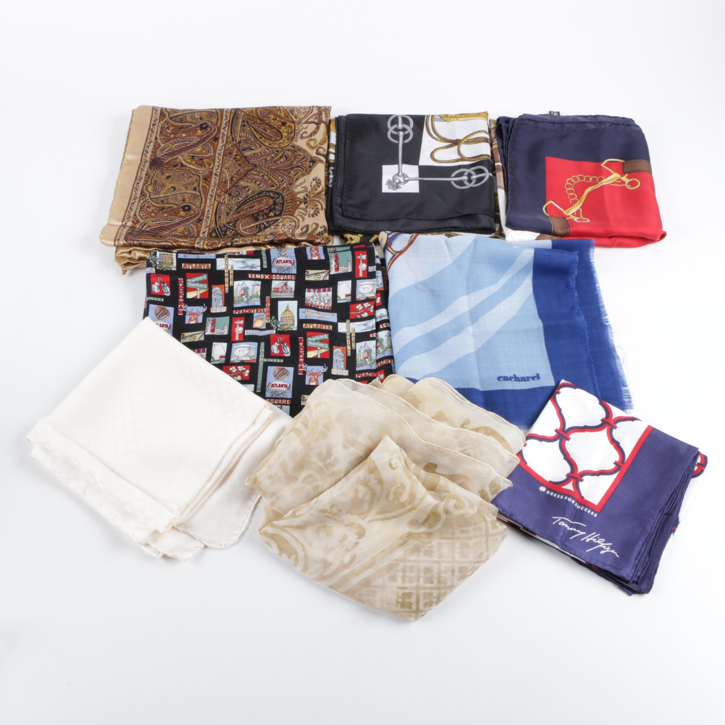 Women's Fashion Scarves including Longchamp, Tommy Hilfiger and Nicole Miller
