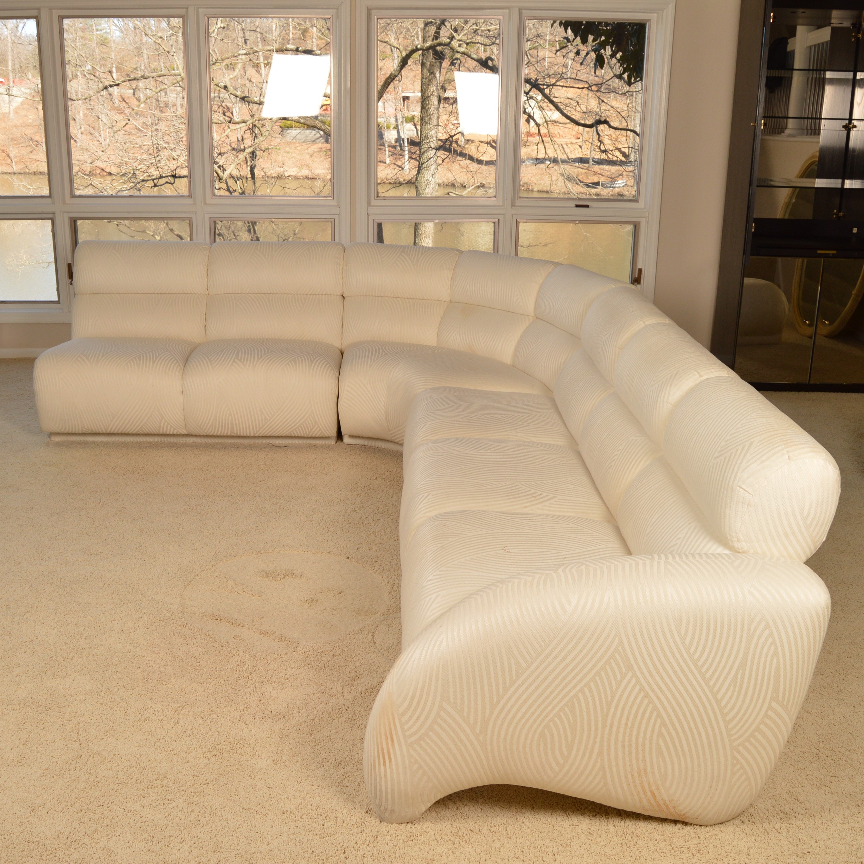 Contemporary Style Sectional Sofa by Weiman