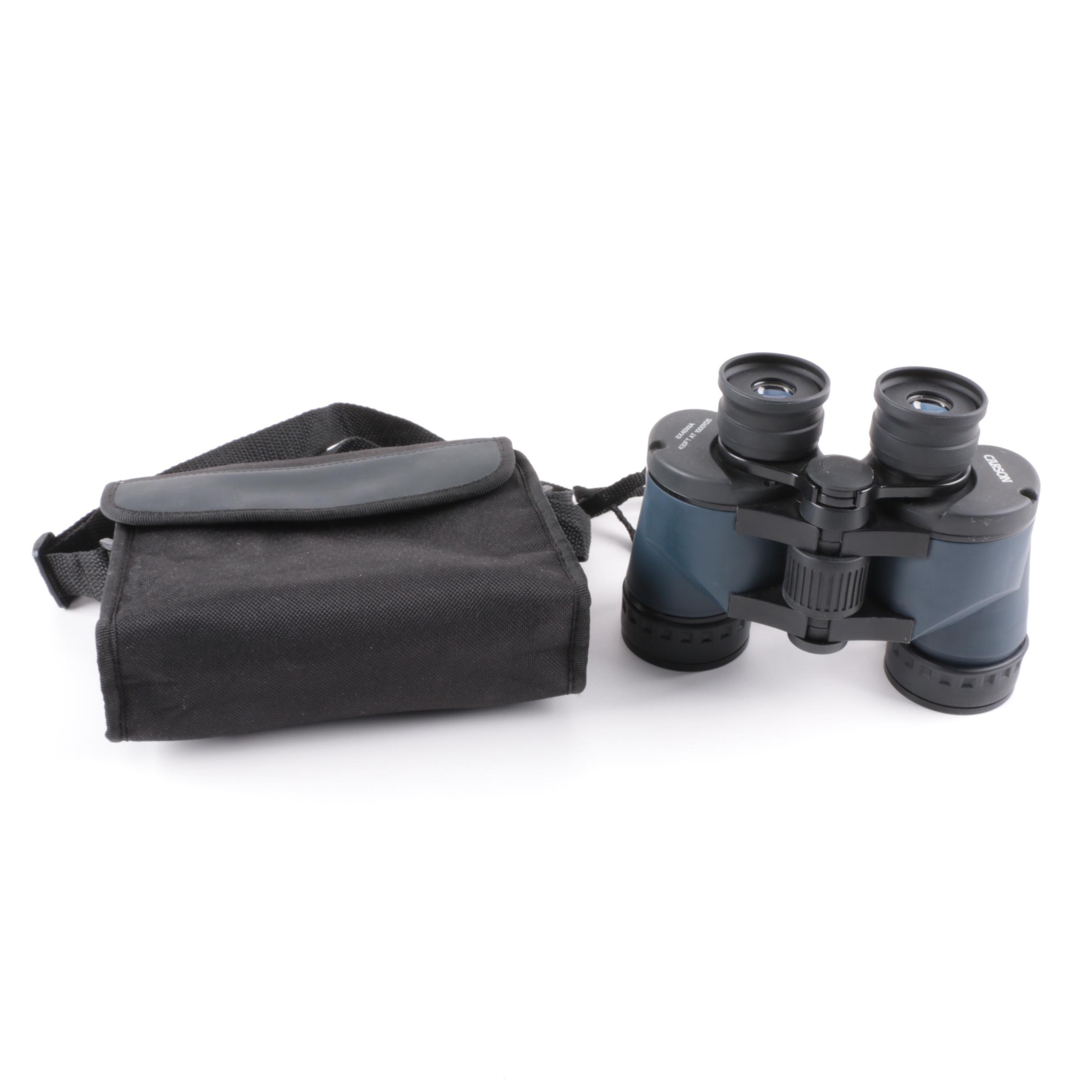 Carson 8x40 Wide Angle Binoculars with Case