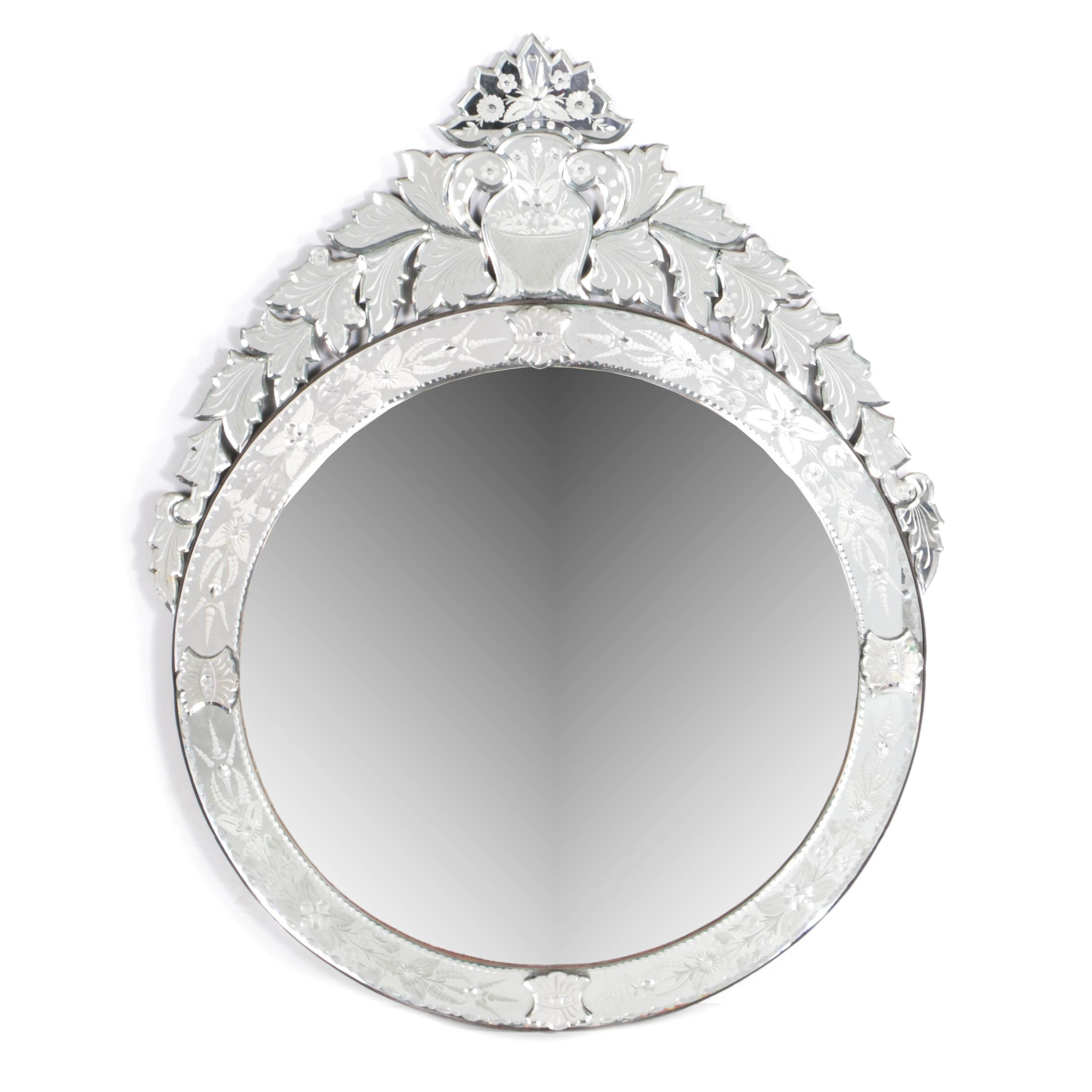 Ornate Venetian Style Wall Mirror