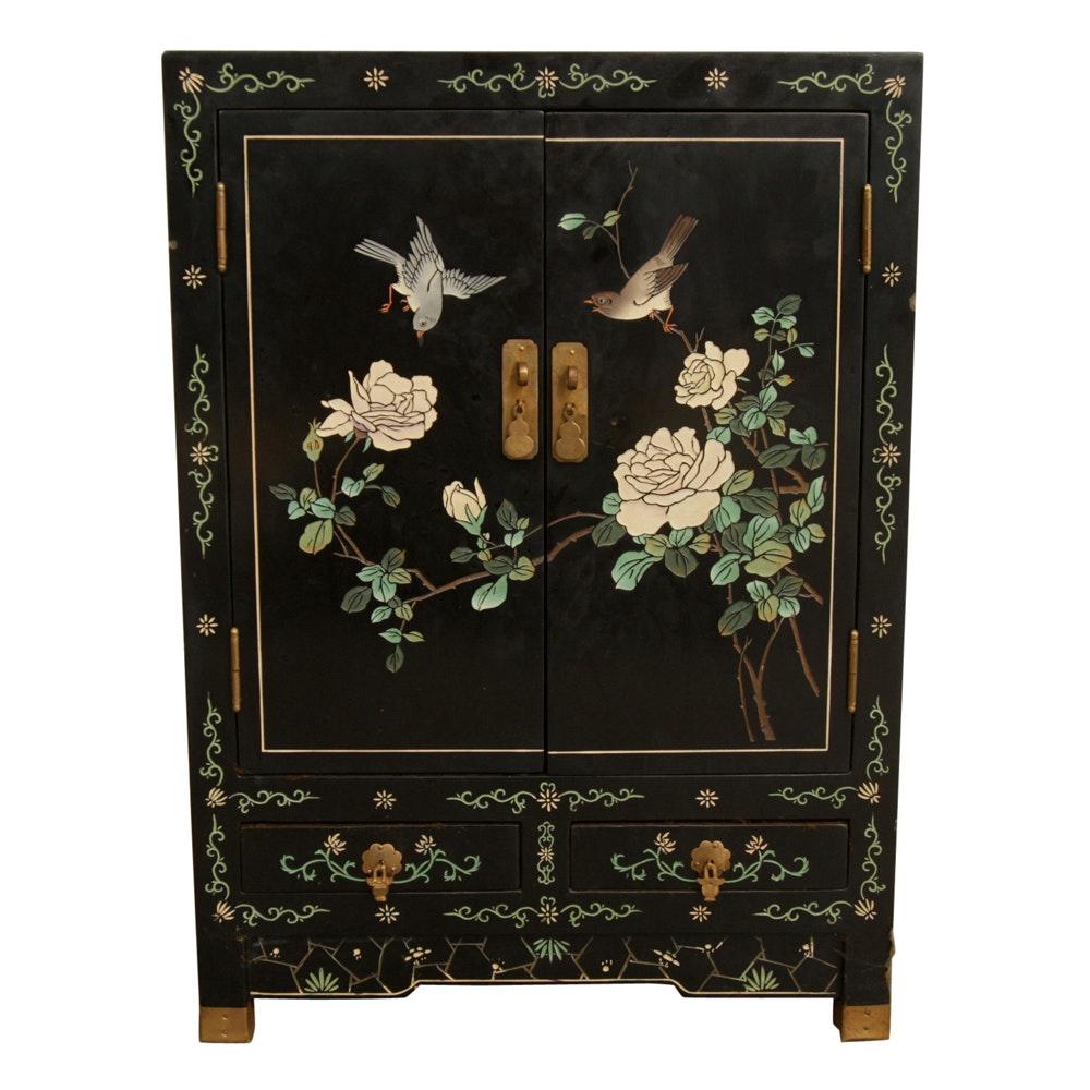 Chinese Coromandel Lacquer Decorated Cabinet