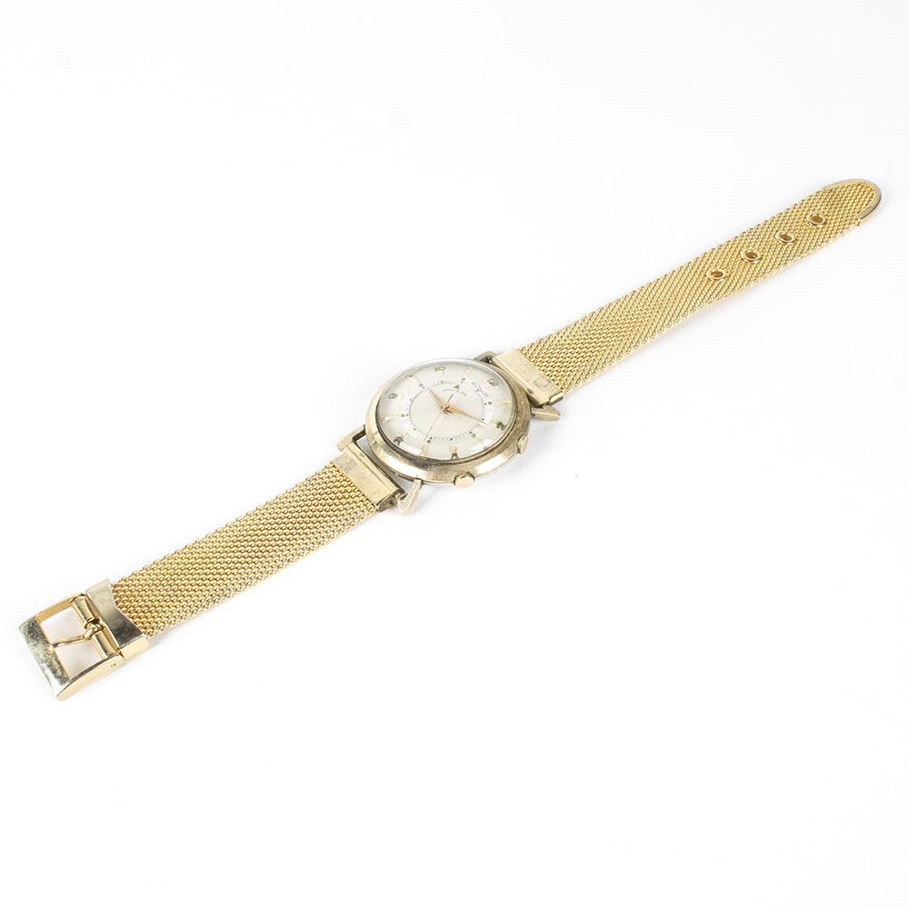 LeCoultre Wrist Alarm Case Wristwatch