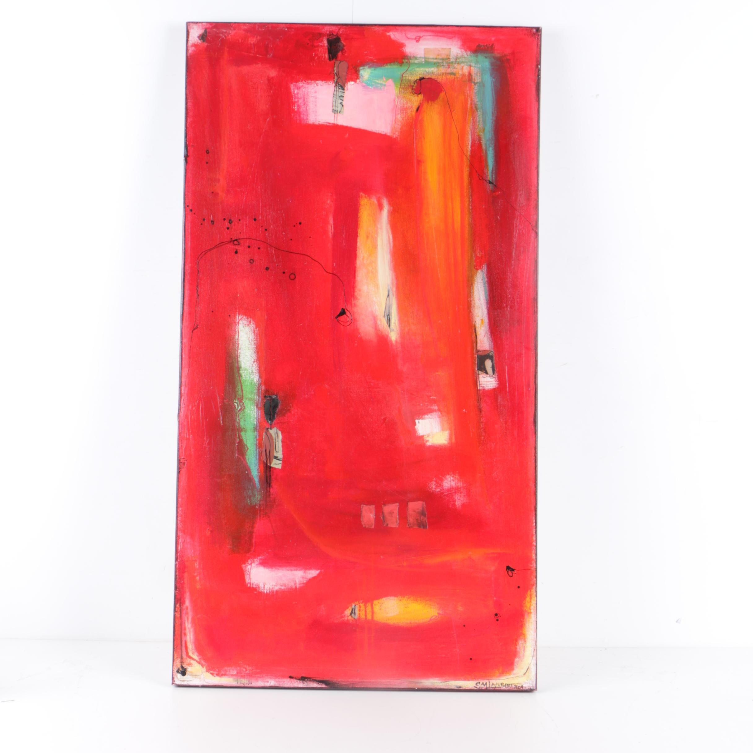 Suzanne Marie Lambert Mixed Media Painting