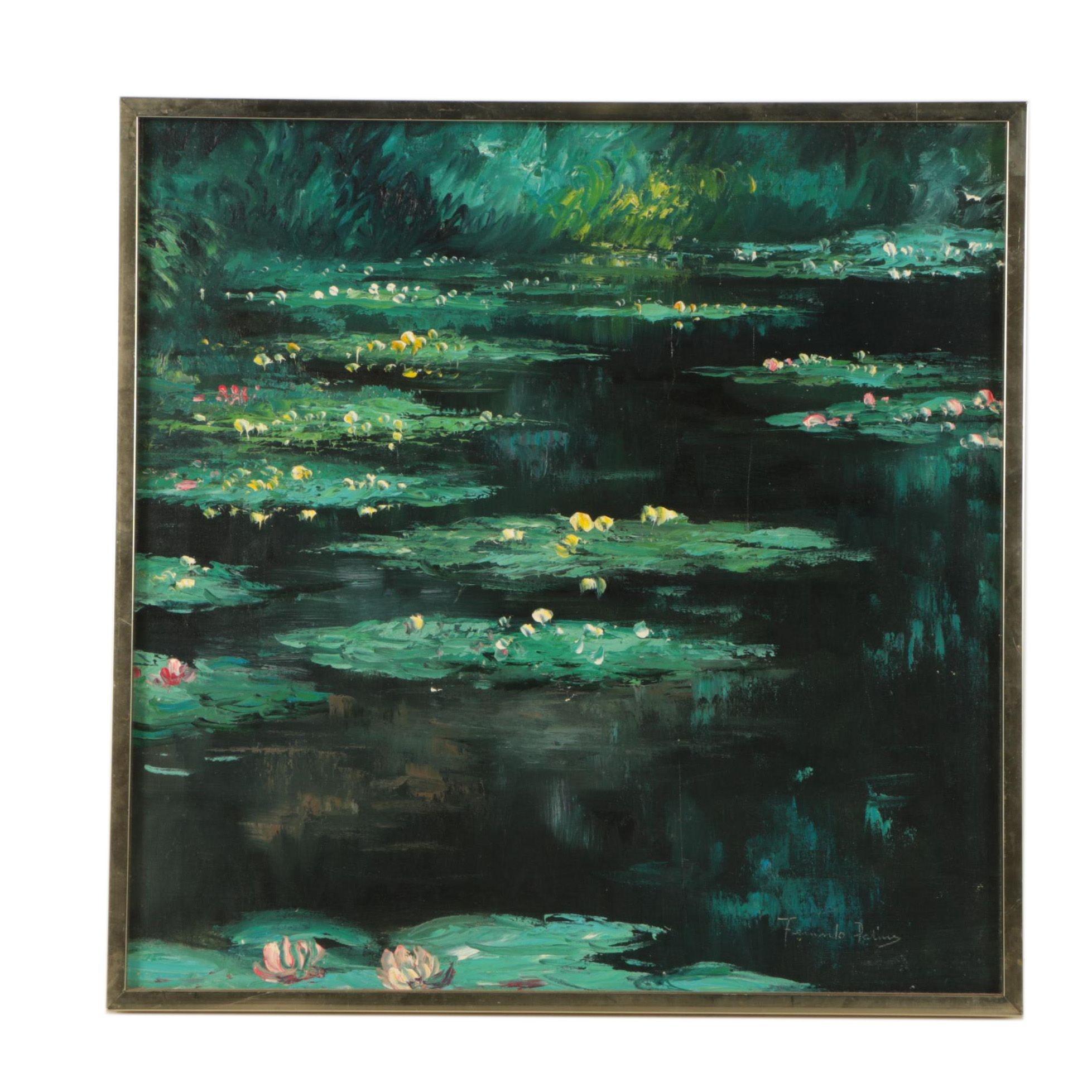 Fernando Palicio Oil Painting