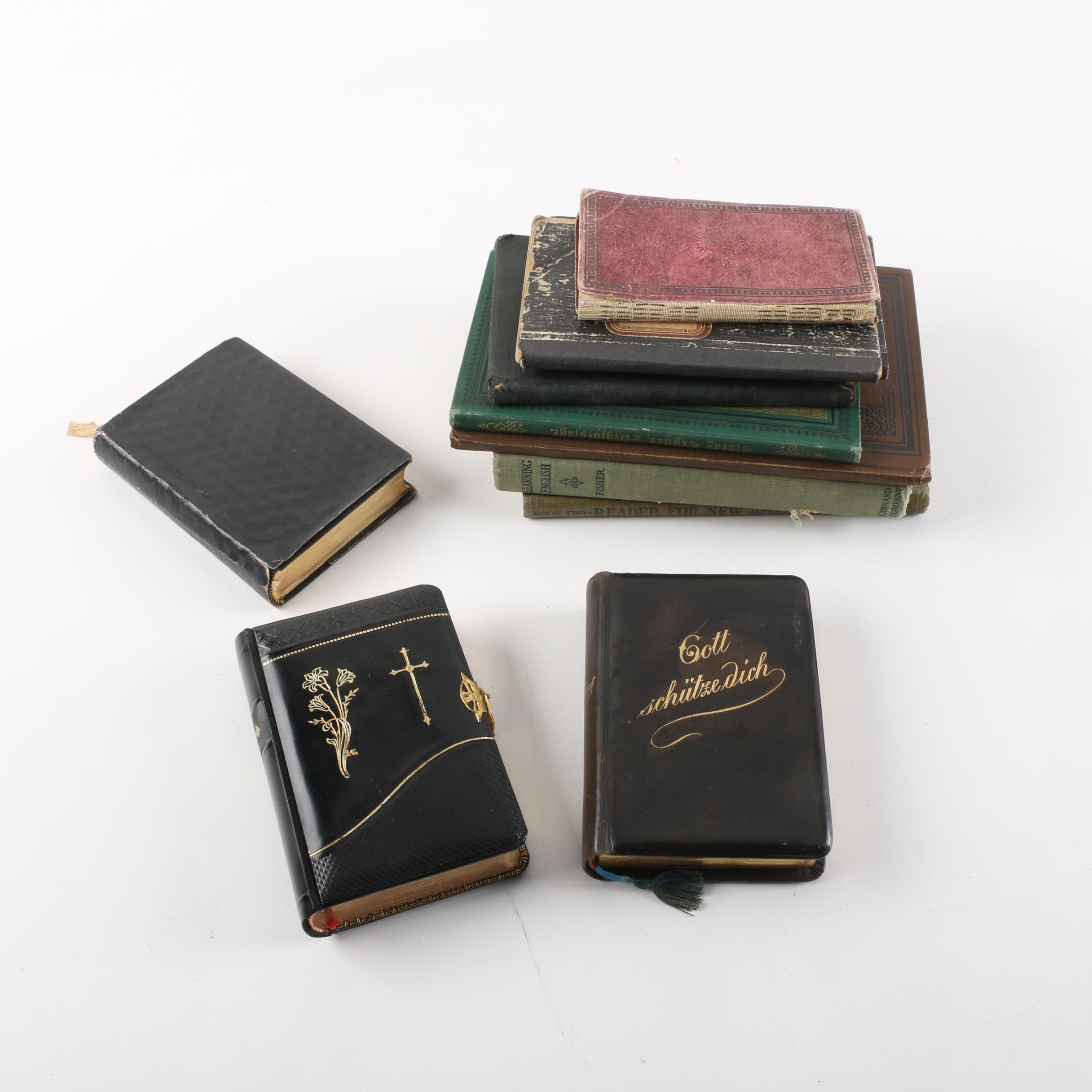 Selection of Foreign Language Bibles and Books