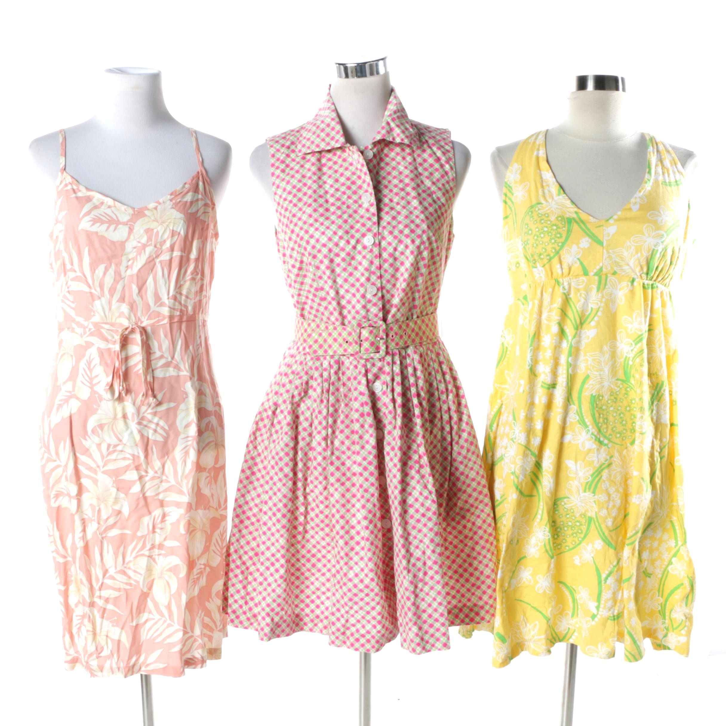 Women's Printed Summer Dresses Including Lilly Pulitzer