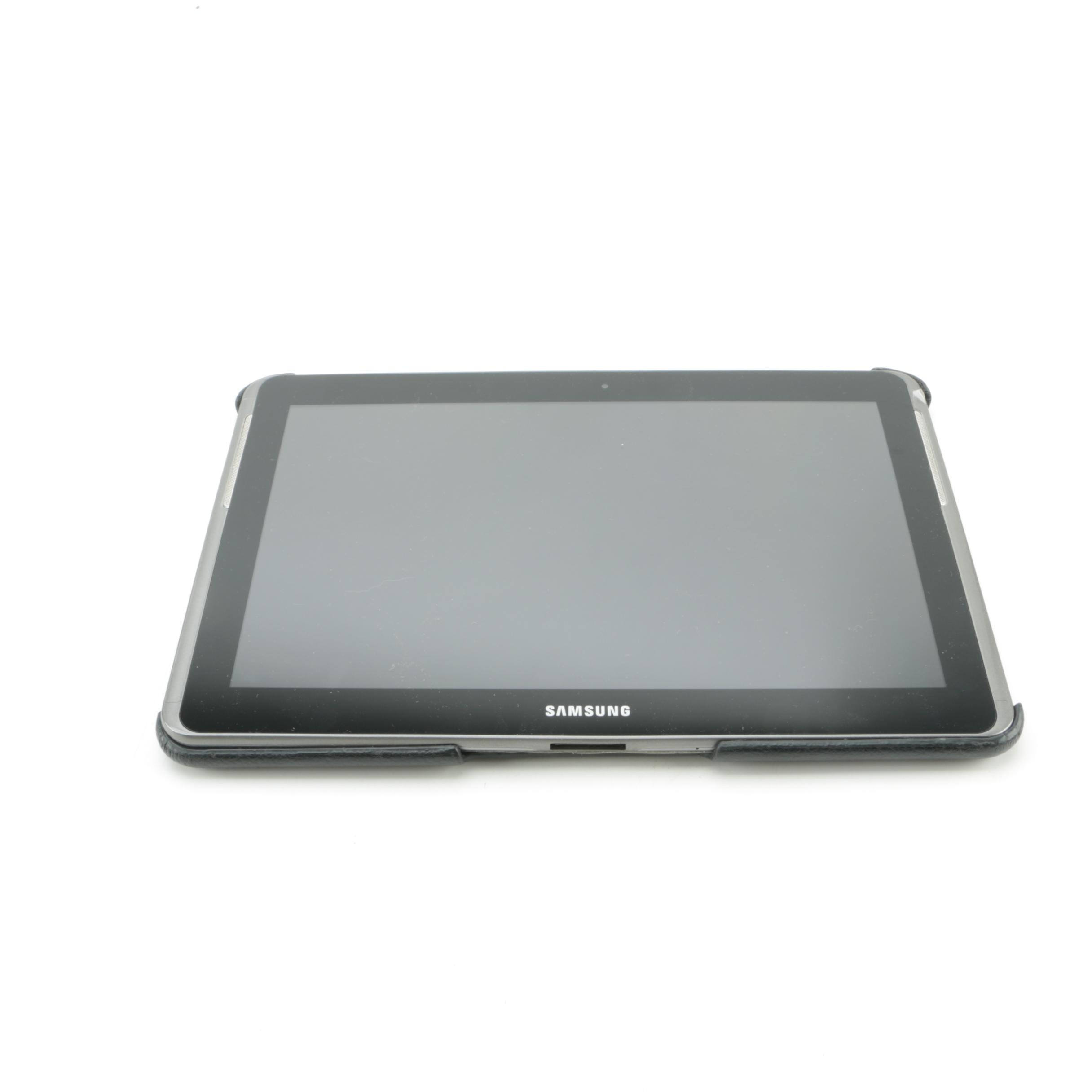 "Samsung 16 GB ""GT-P5113"" Model Tablet with Protective Backing"