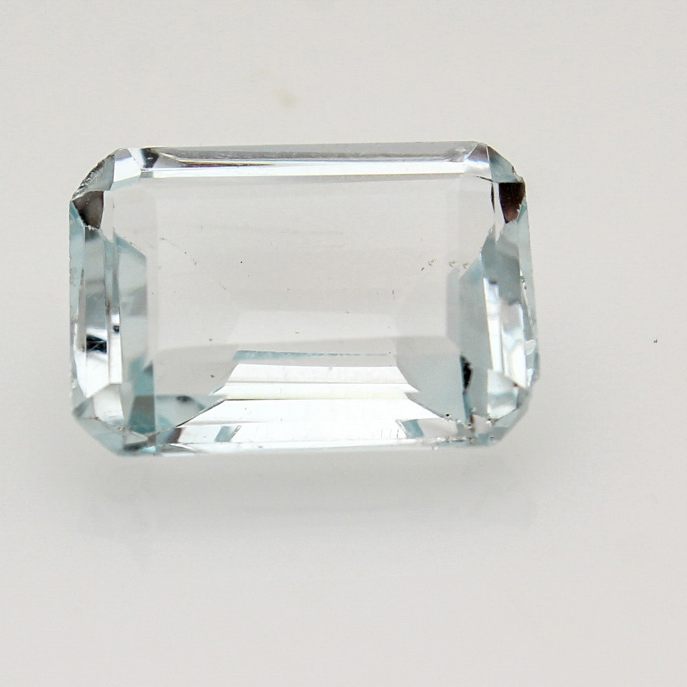 Loose 17.5 CT Blue Topaz Stone