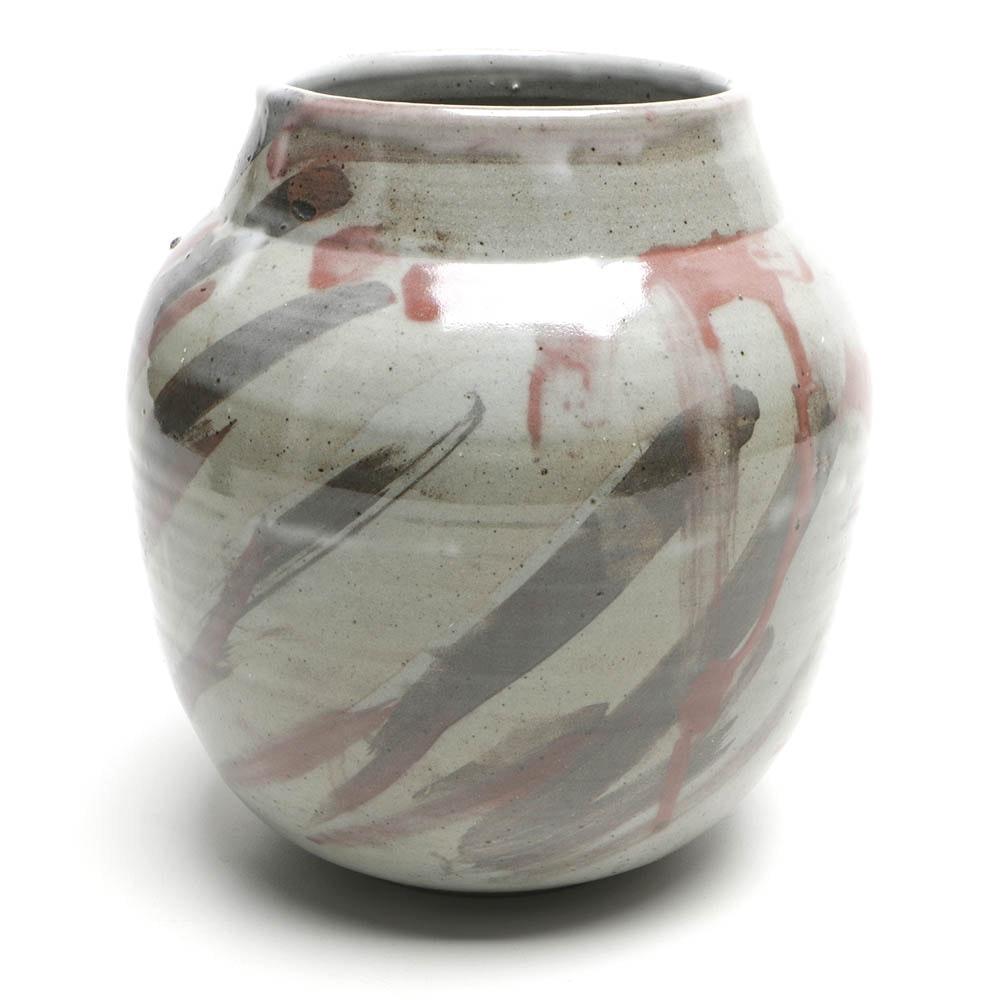 Vintage Tobias Weissman Redware Vase