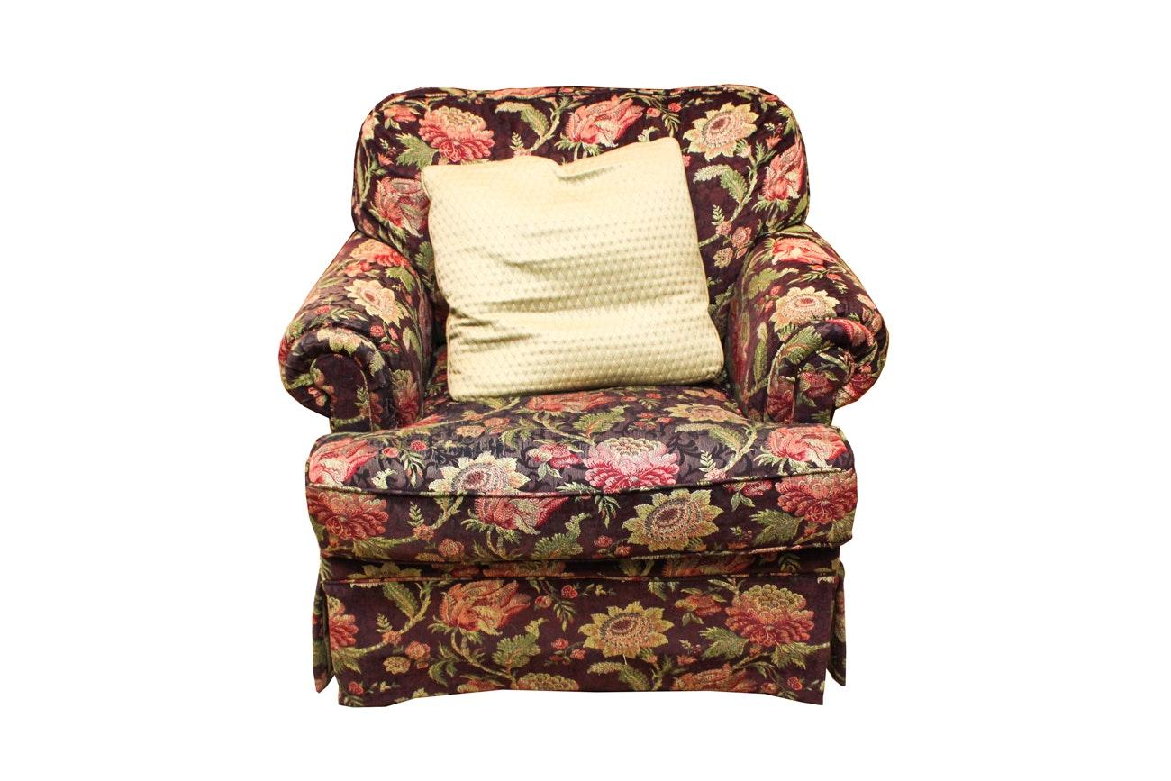 Flexsteel Floral Upholstered Armchair