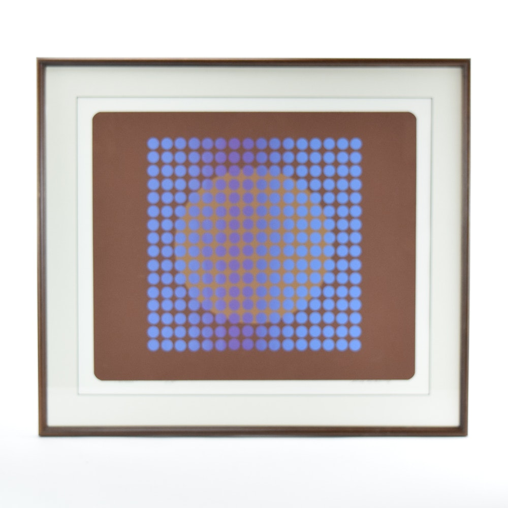 "1979 Rudy Ayoroa Limited Edition Serigraph ""Aimara Io"""
