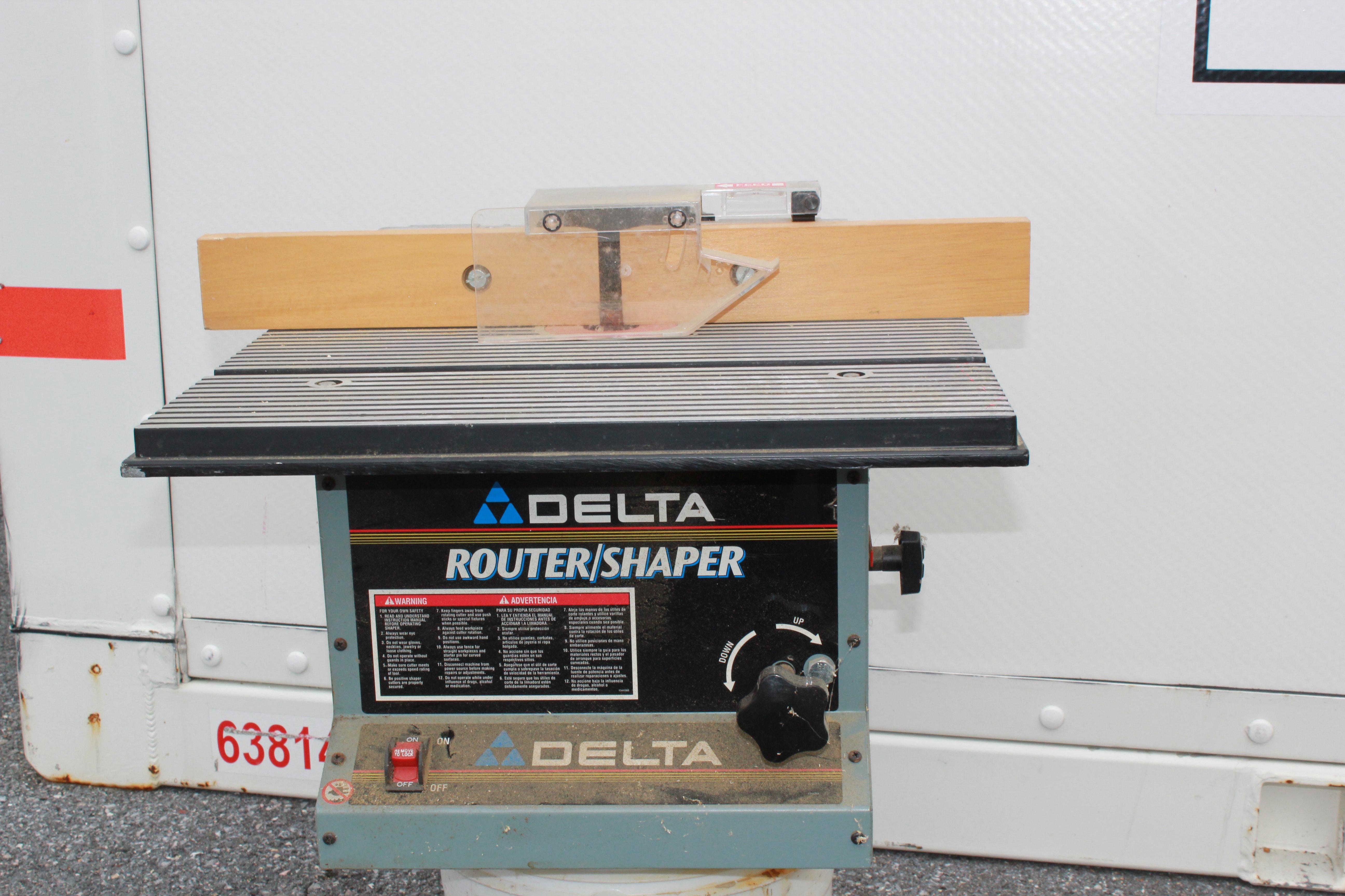 Delta 43-505 Router/Shaper