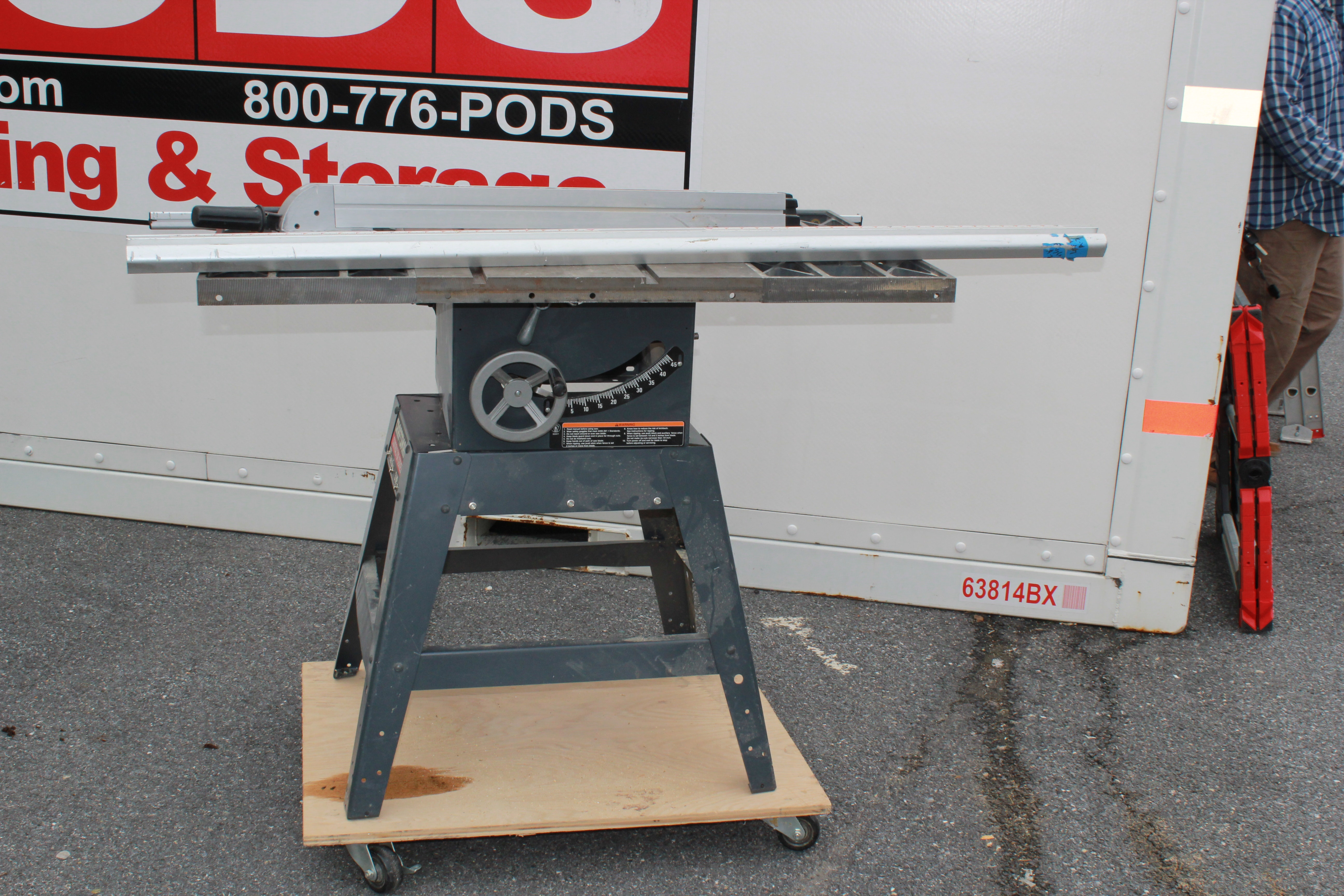 Sears Craftsman 10 Inch Model 113.299410 Table Saw