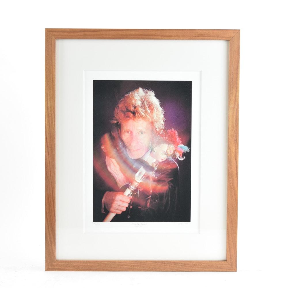 "Artist's Proof Giclée After Photograph of Henry Faulkner ""H. Faulkner Showman"""