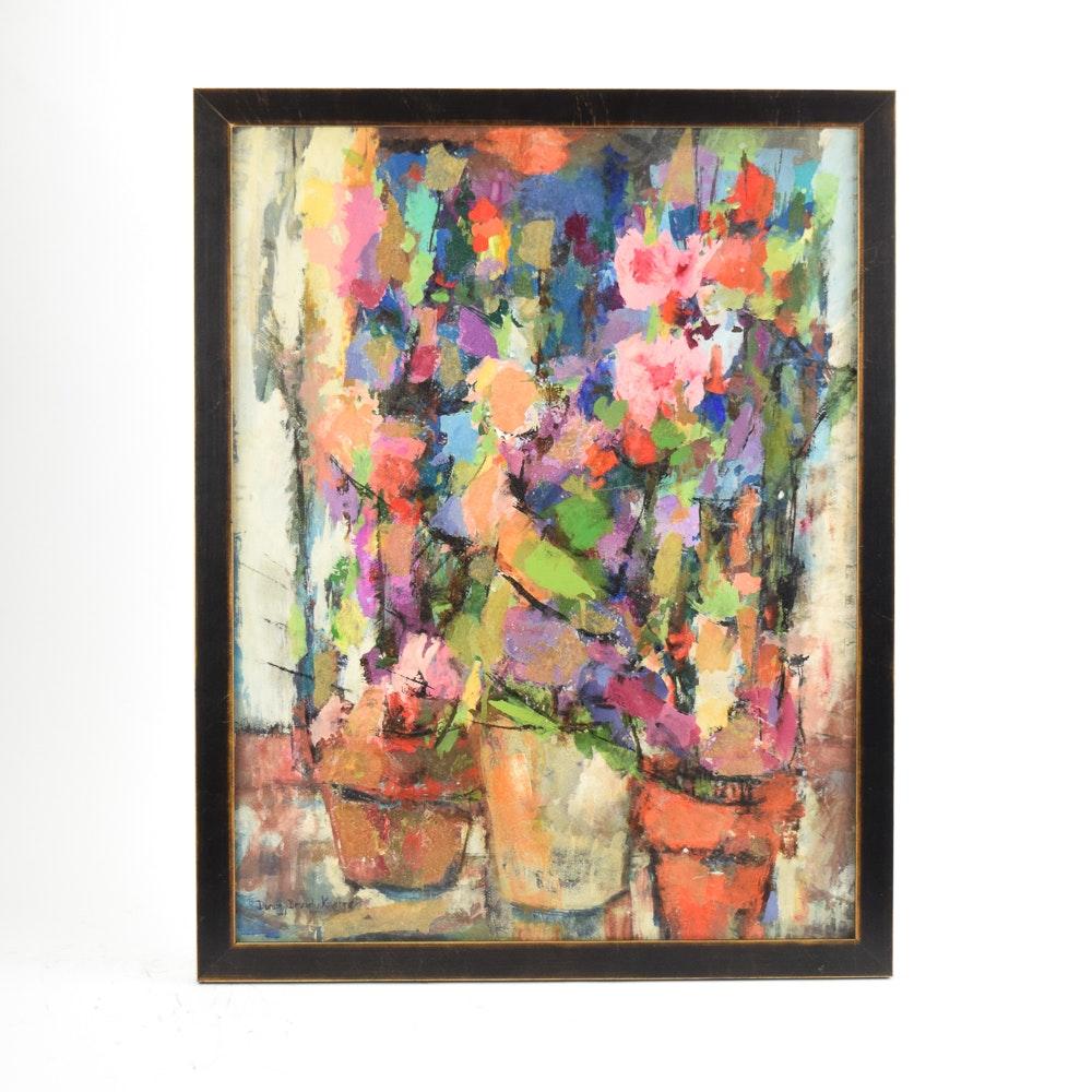 Dorothy Browdy Kushner Mixed Media Painting