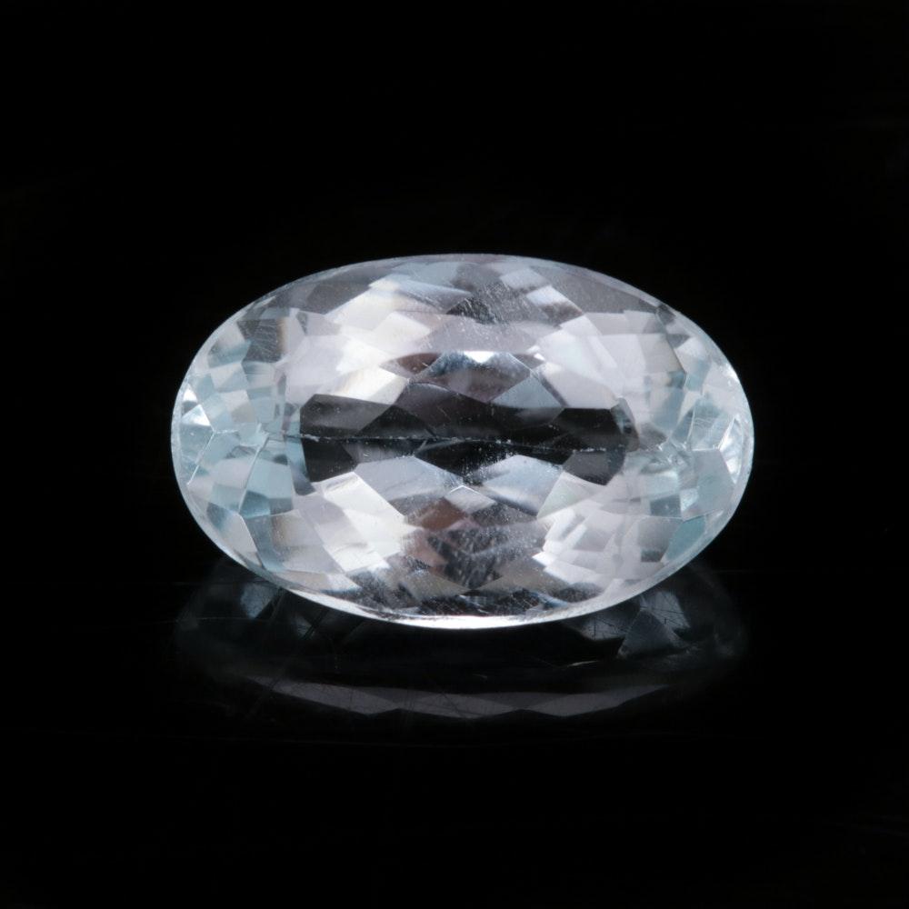 4.21 CT Loose Blue Topaz Gemstone