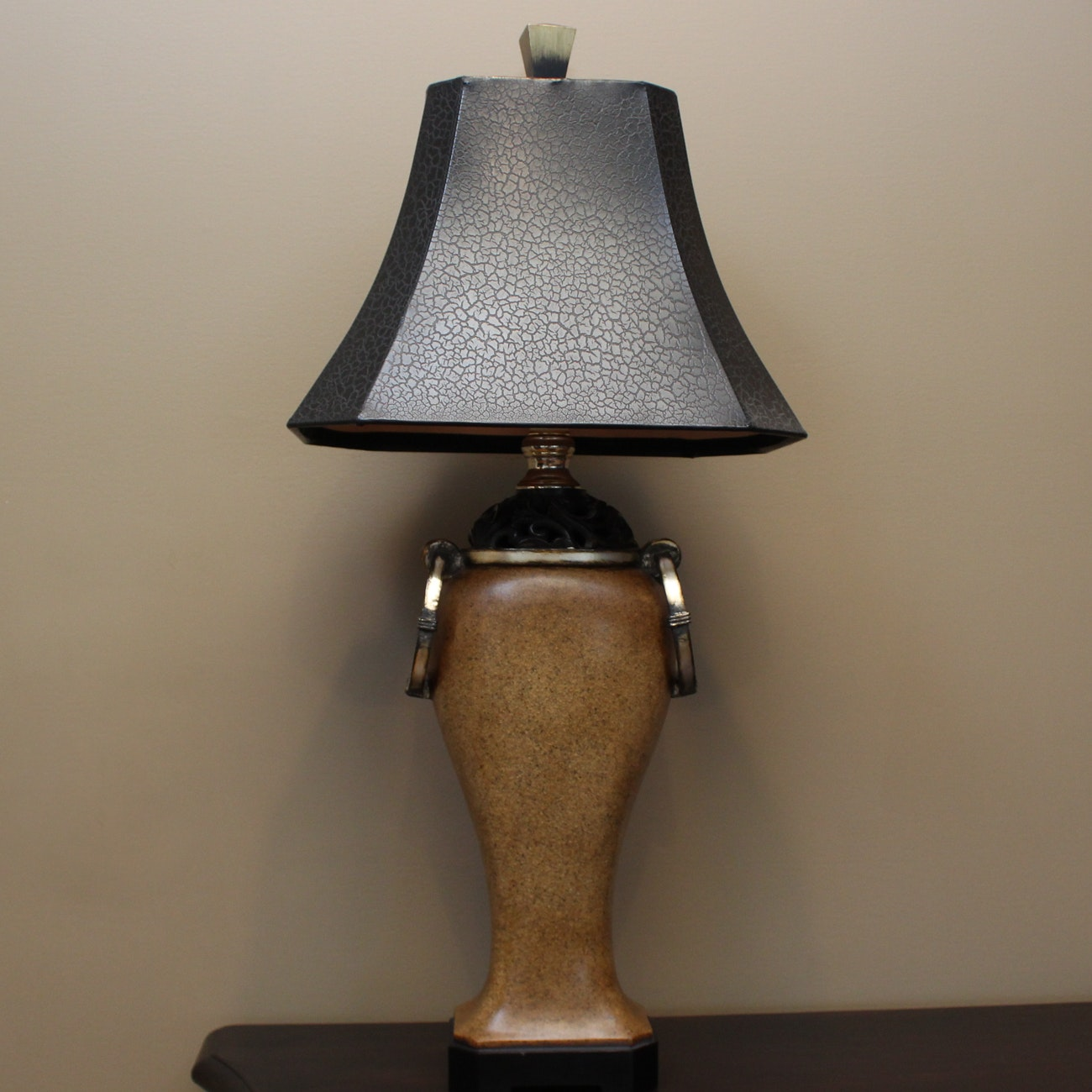 Contemporary Beige Table Lamp