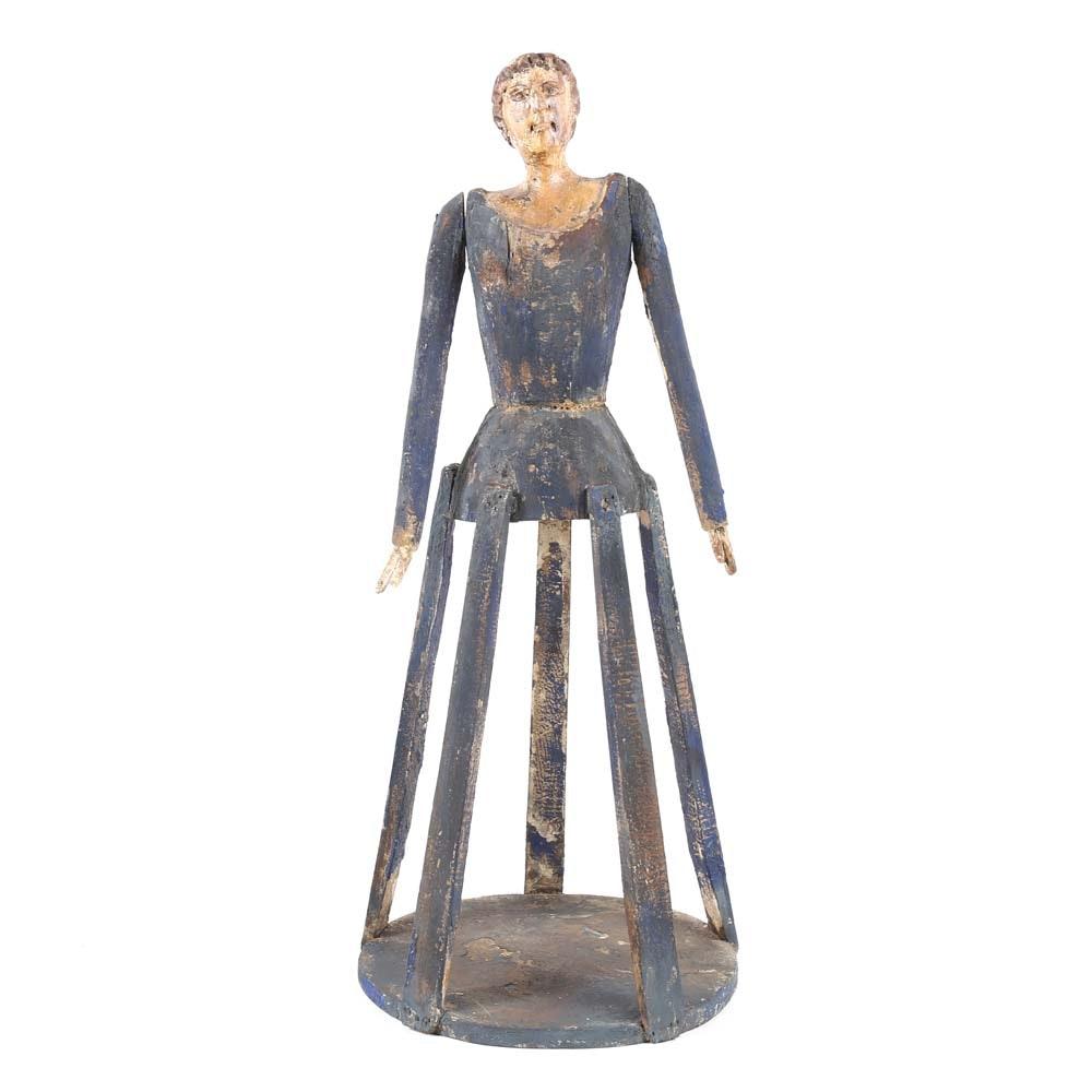 Vintage Santos Cage Doll