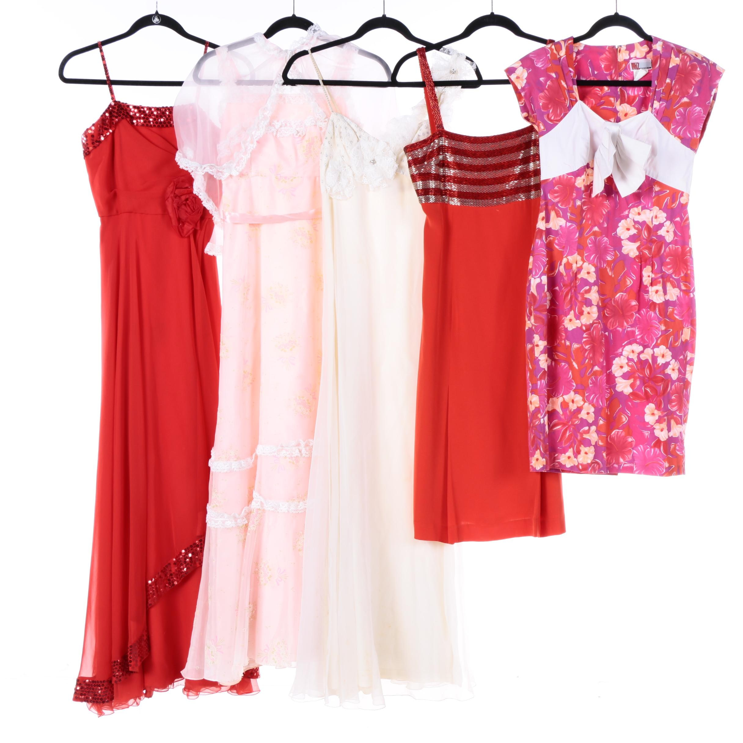 Vintage Formal Dresses Including D'ore and Mike Benet