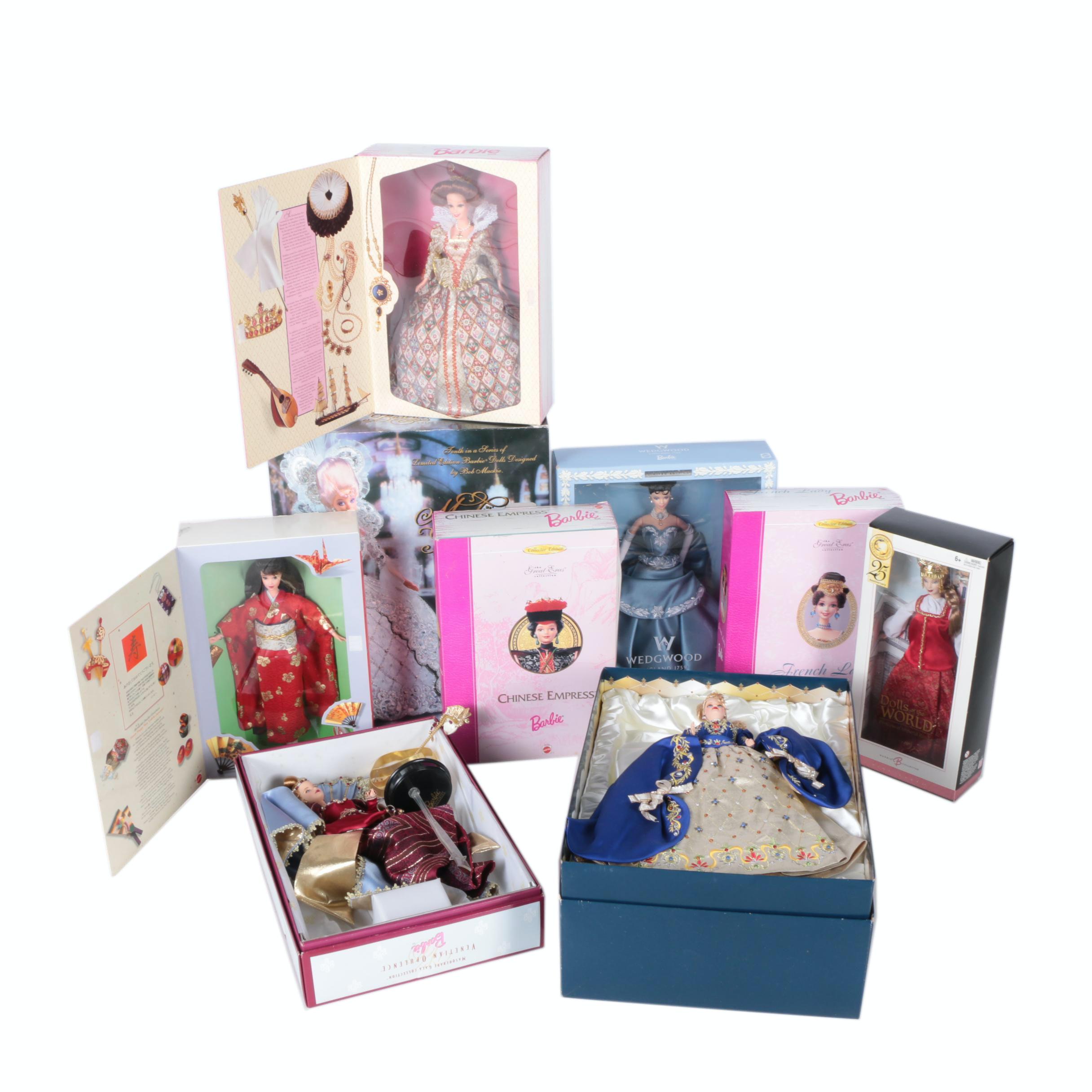 "Mattel Limited Edition Barbie Dolls Featuring ""Wedgwood"""