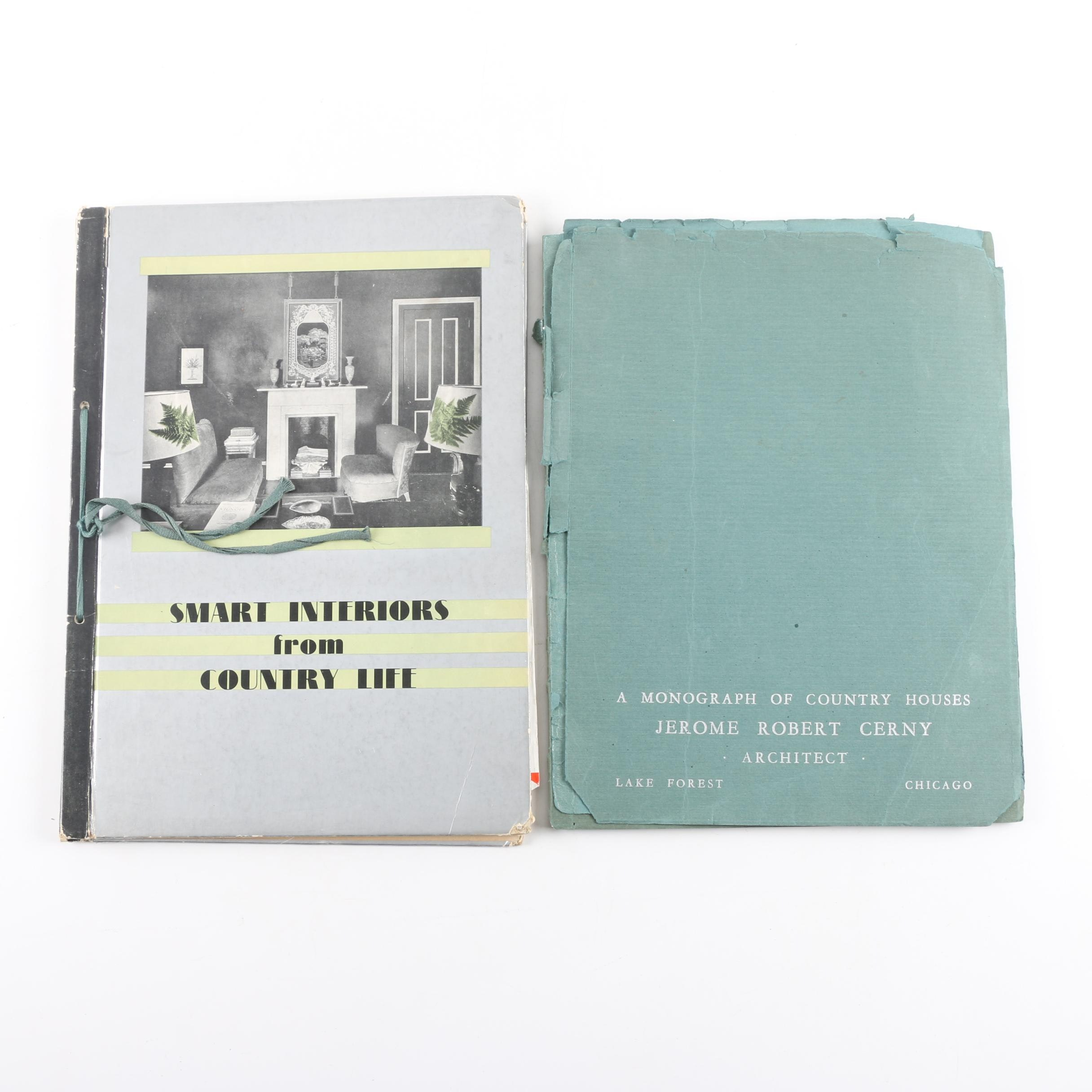 Mid-20th Century Country Architecture Booklets