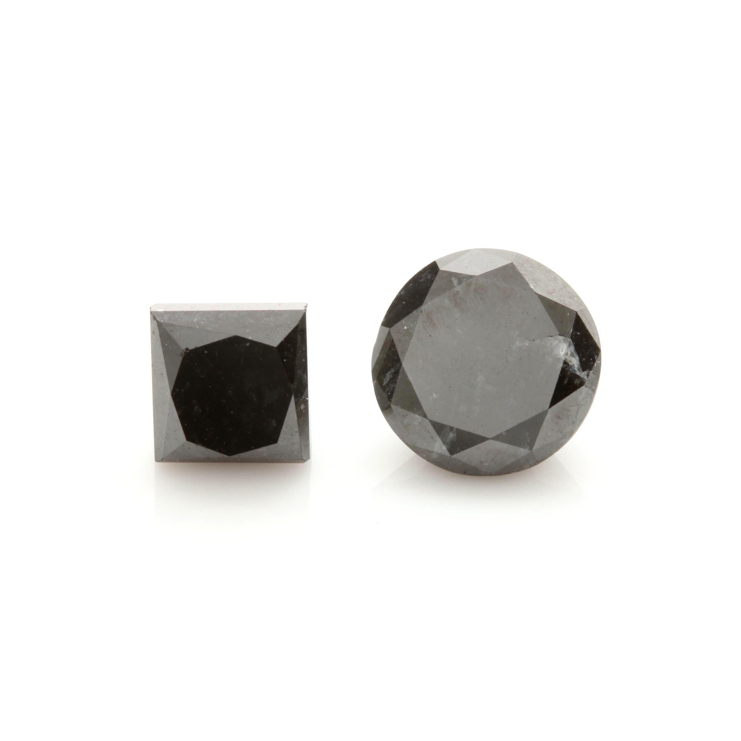 Loose 6.09 CTW Black Diamond Selection