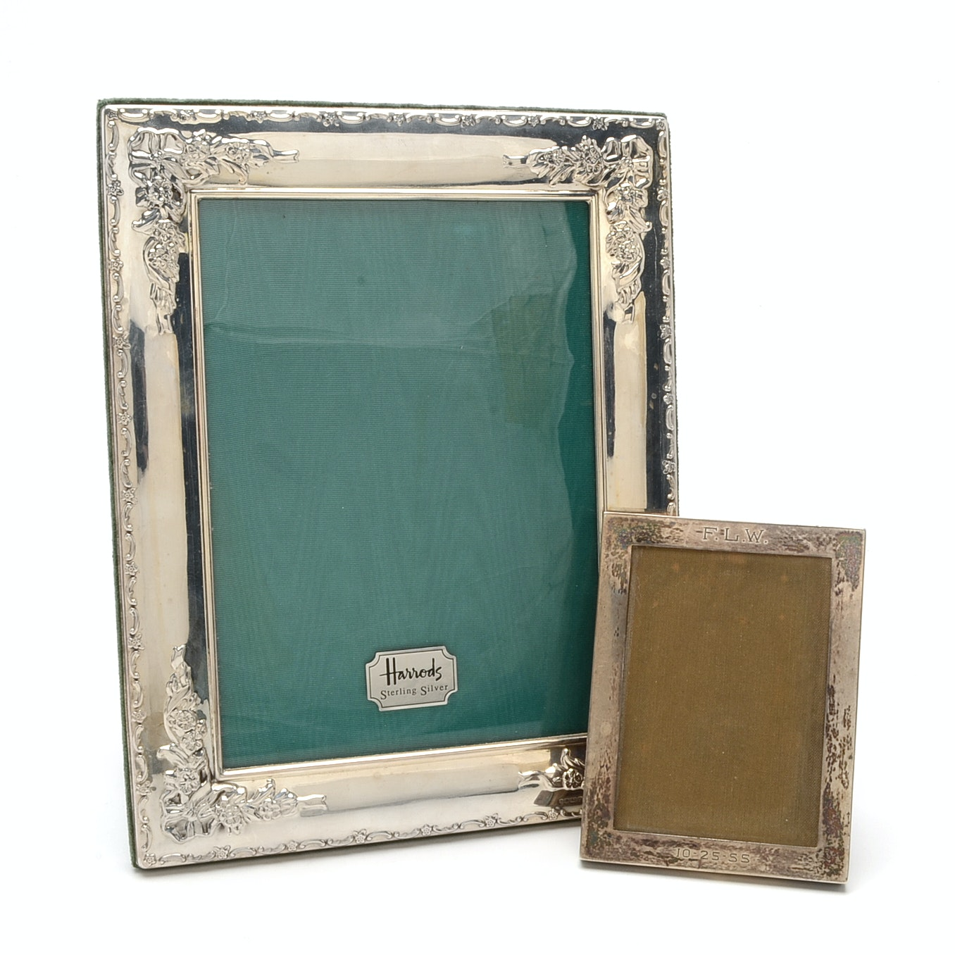 Sterling Silver Front Picture Frames