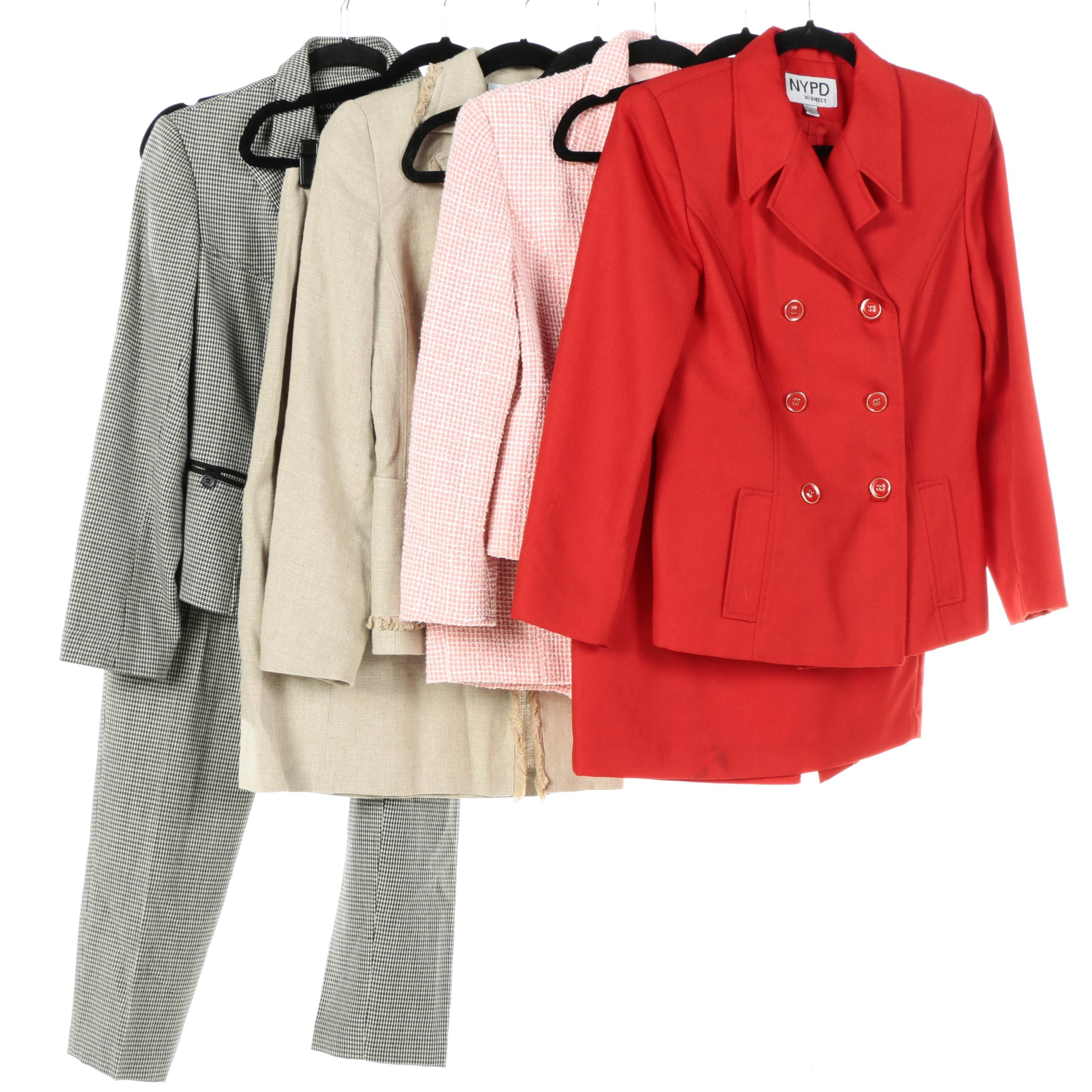 Women's Suits Including Extenzo Paris and Collection by Harvé Benard