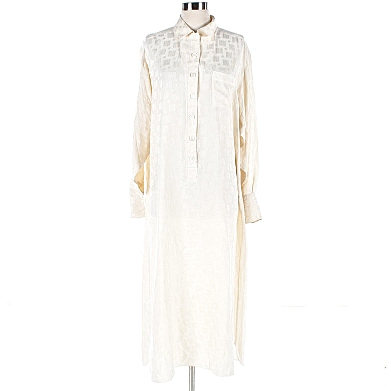 "Nightgown Worn by Diane Keaton in ""Baby Boom"" and AFI Award Tickets"