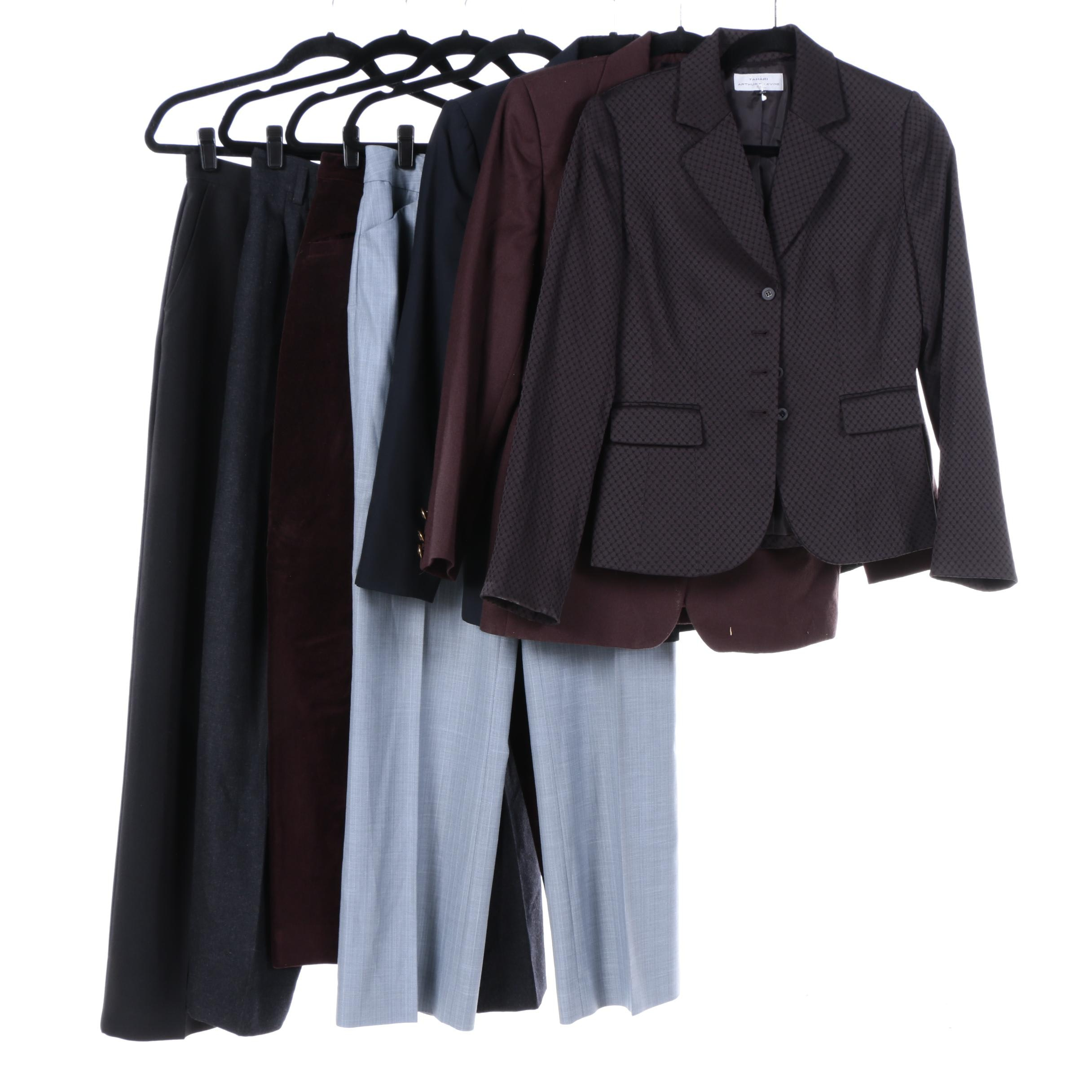 Women's Suit Separates Including Calvin Klein and BCBG Paris