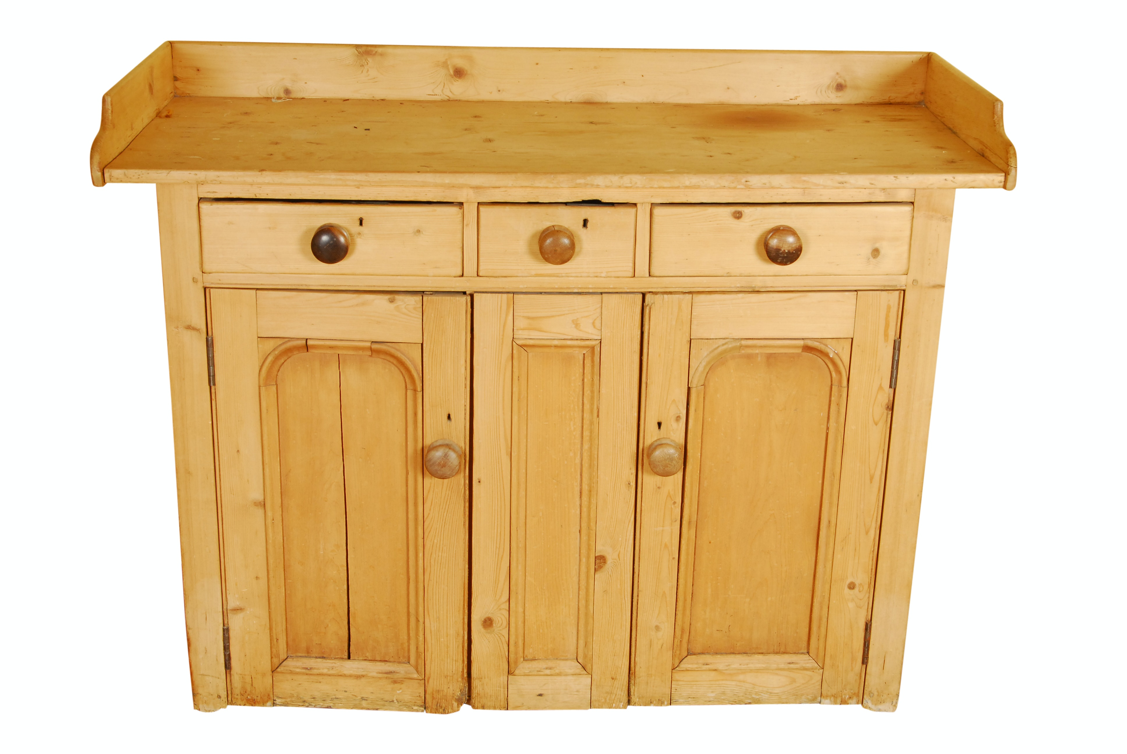 Antique English Pine Cabinet